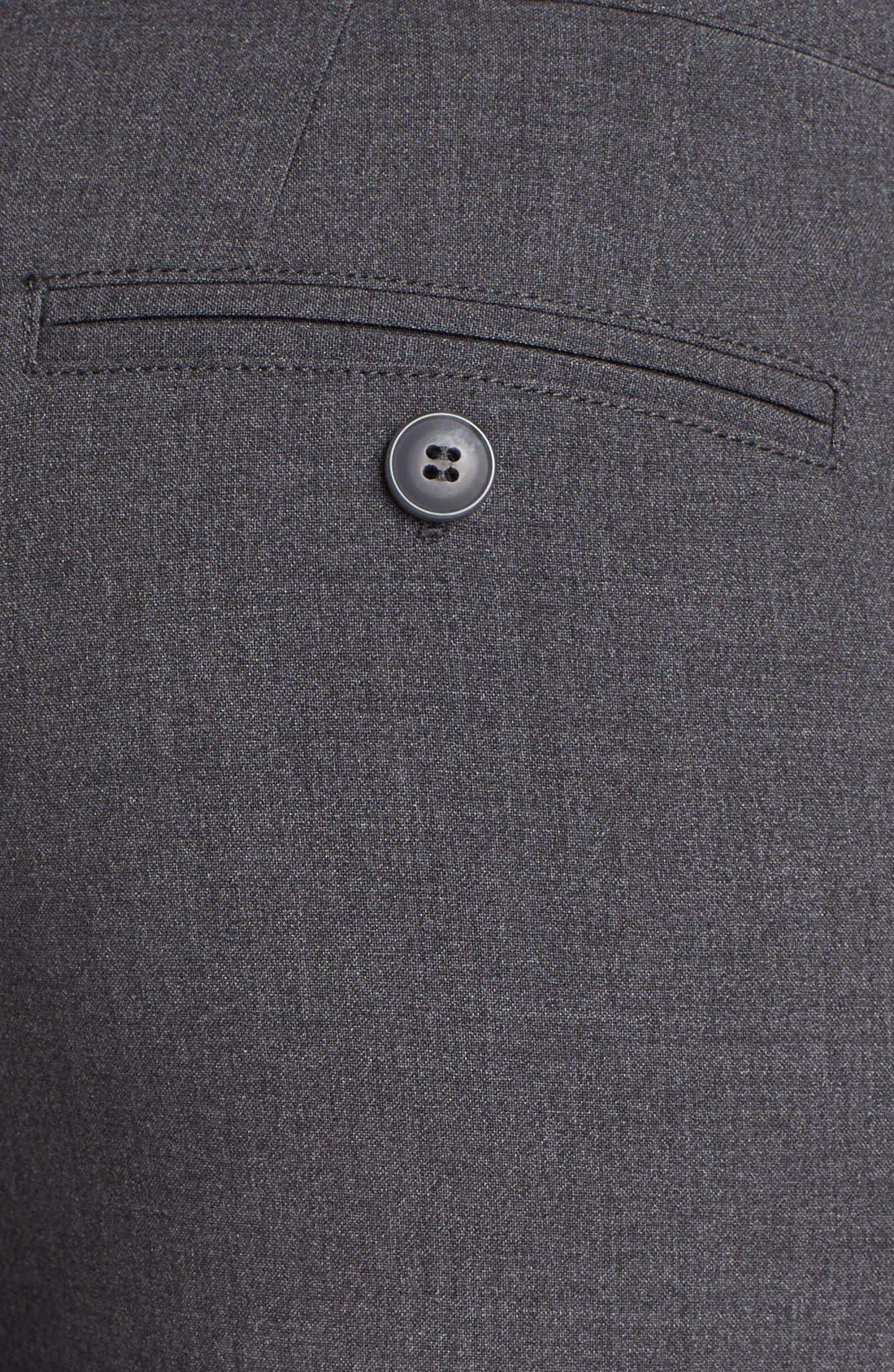 Alternate Image 3  - NYDJ Stretch Straight Leg Trousers (Petite)