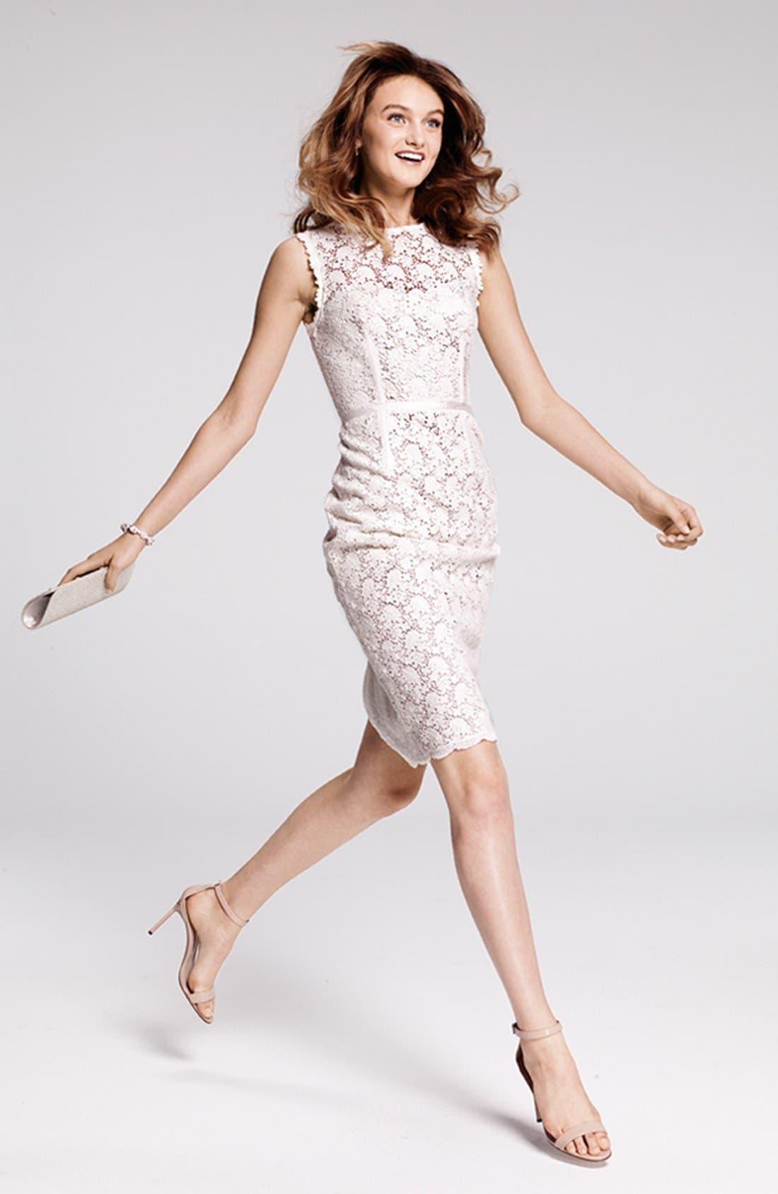 Main Image - Jill Jill Stuart Lace Dress & Accessories