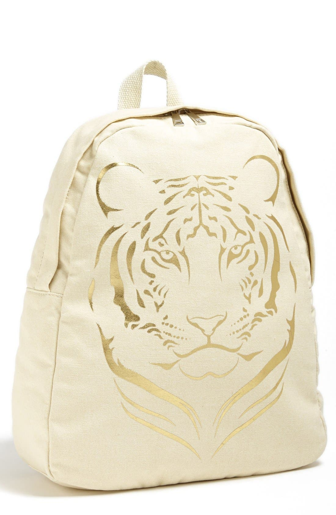 Alternate Image 1 Selected - Amici Accessories Tiger Print Backpack (Juniors) (Online Only)