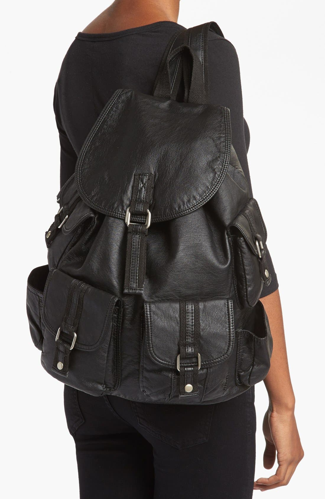 Alternate Image 2  - Cesca 'Lotsa Pockets' Backpack (Juniors) (Online Only)