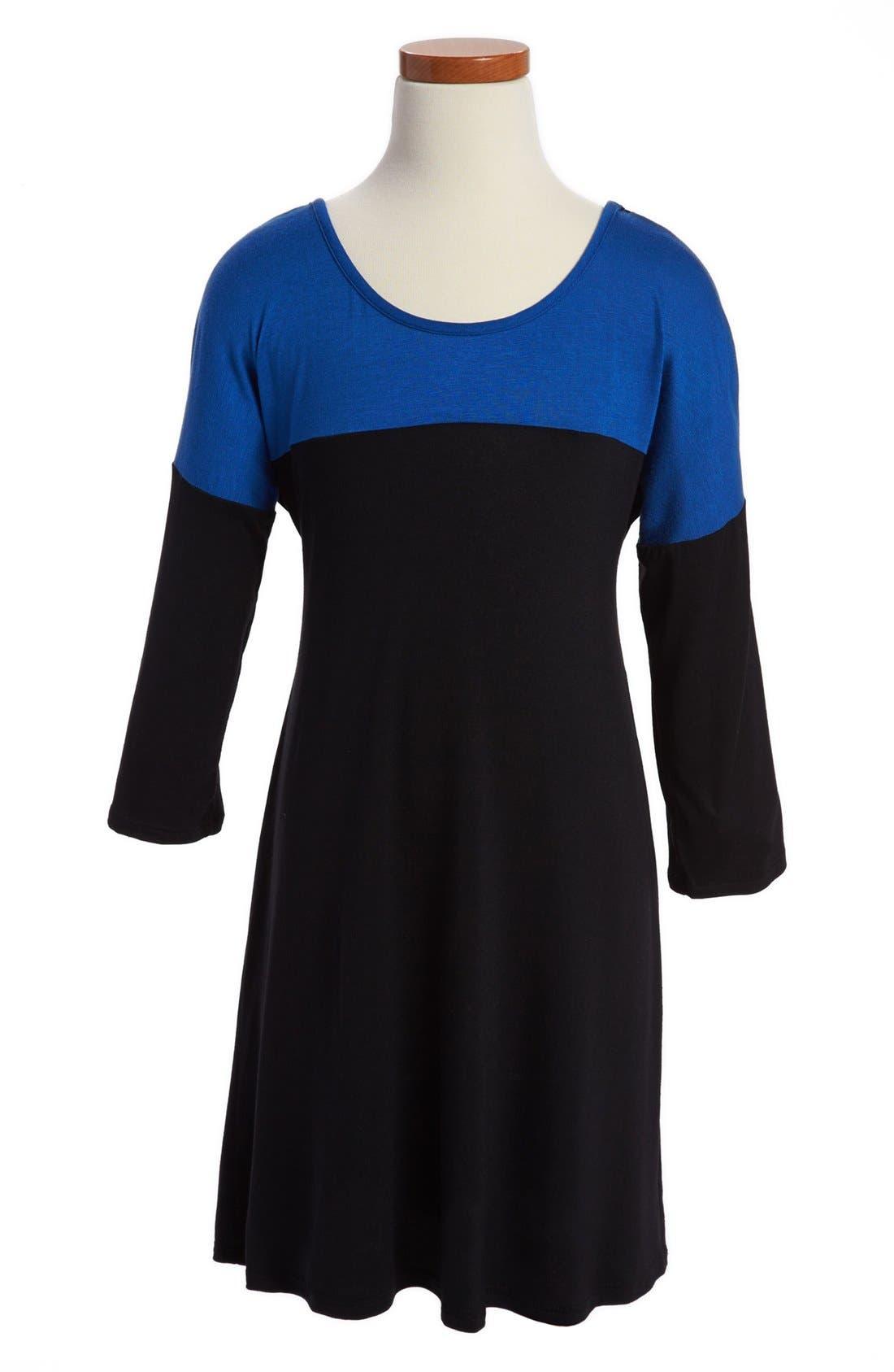 Alternate Image 1 Selected - Sally Miller Lace Back Dress (Big Girls)