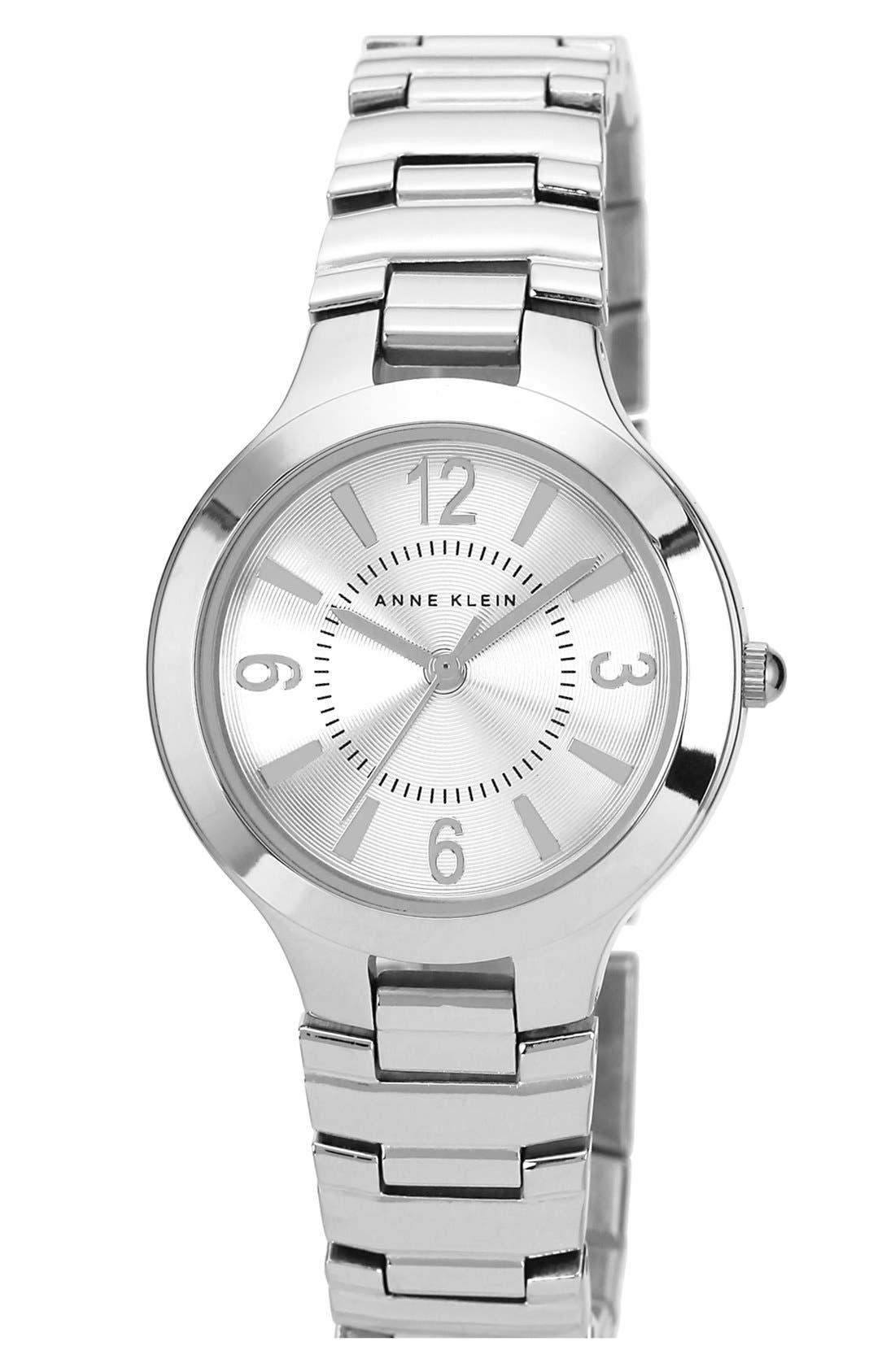 Main Image - Anne Klein Round Bracelet Watch, 32mm