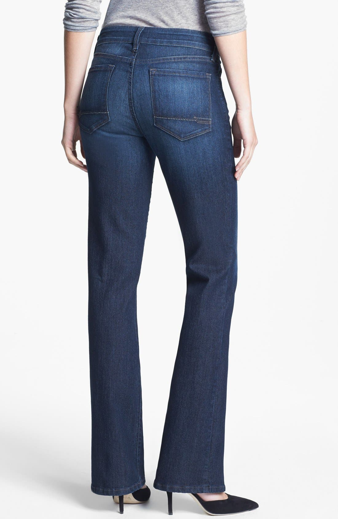 Alternate Image 3  - NYDJ 'Barbara' Stretch Bootcut Jeans (Burbank)