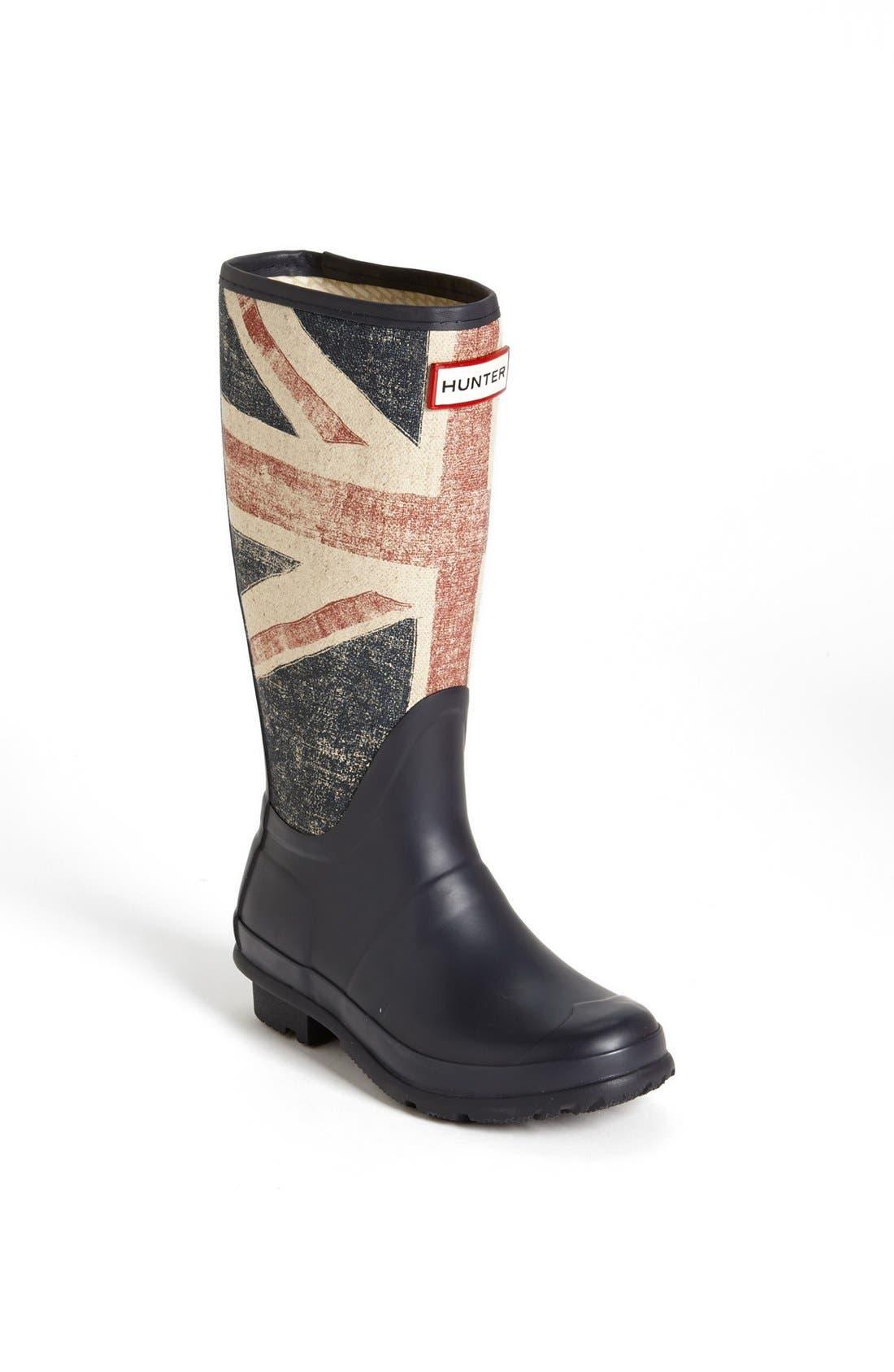 Main Image - Hunter 'Brit' Waterproof Rain Boot (Little Kid & Big Kid)