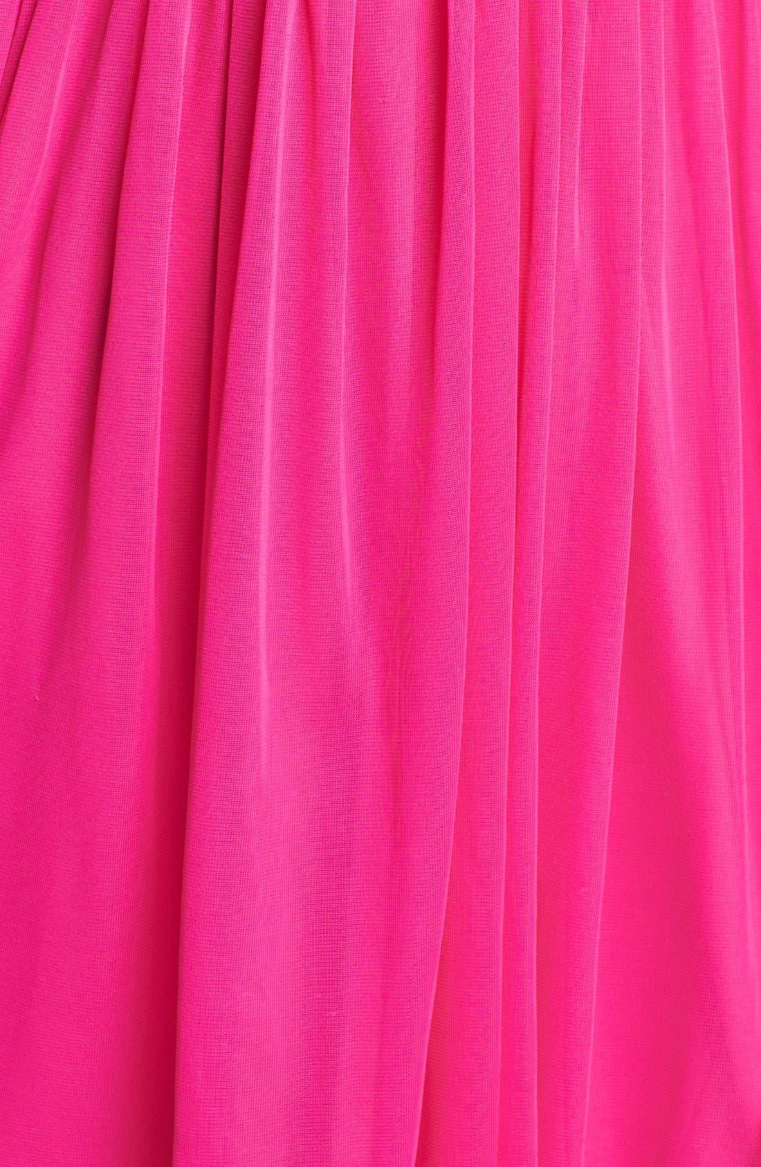 Alternate Image 3  - Way-In Embellished Pleat Bodice Dress (Juniors)