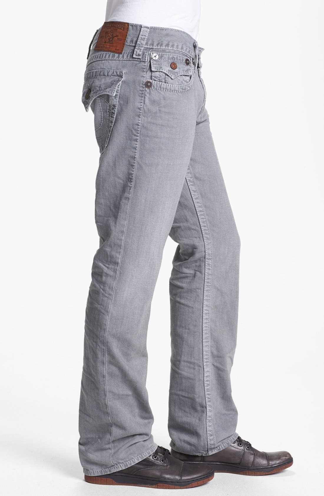 Alternate Image 3  - True Religion Brand Jeans 'Ricky' Straight Leg Jeans (Assd Seal)