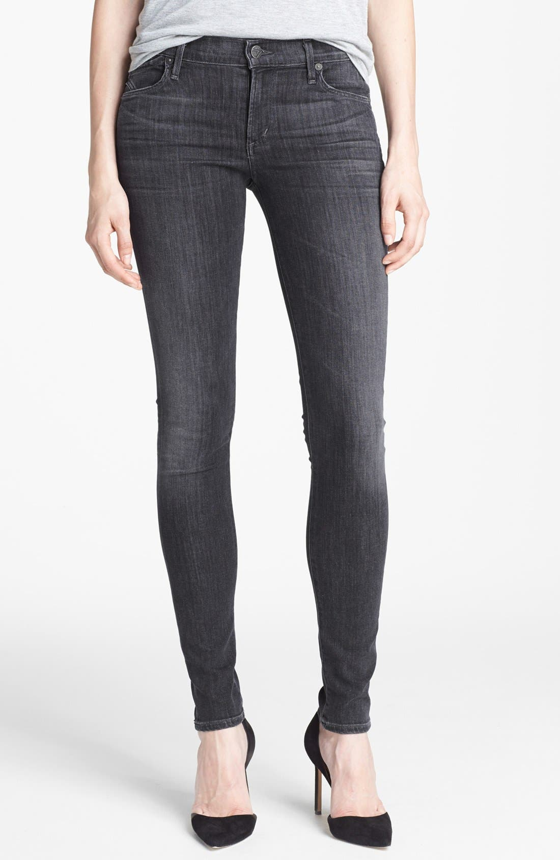 Alternate Image 1 Selected - Citizens of Humanity Ultra Skinny Jeans (Moonshadow)