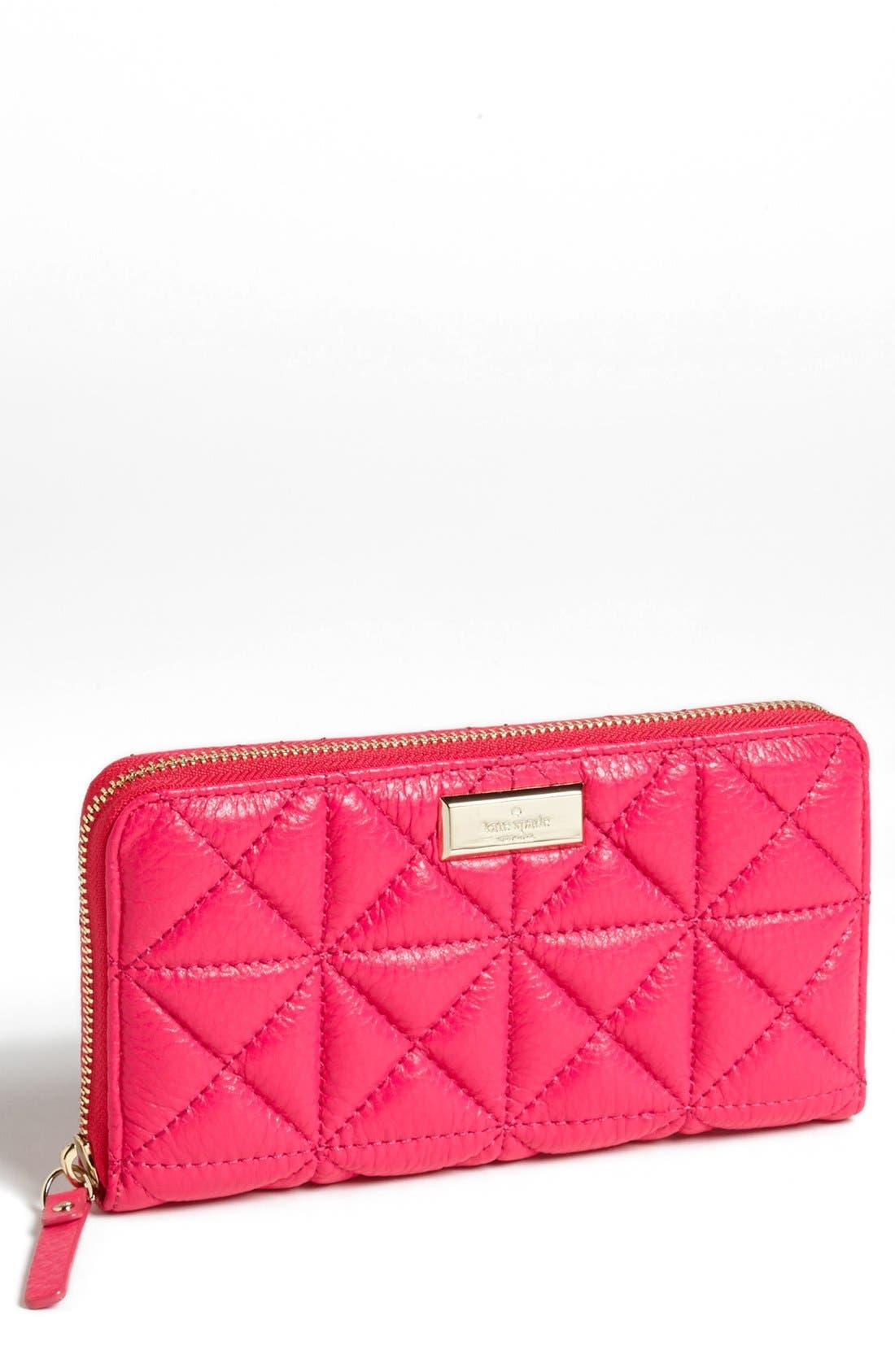 Main Image - kate spade new york 'sedgwick place - lacey' zip around wallet