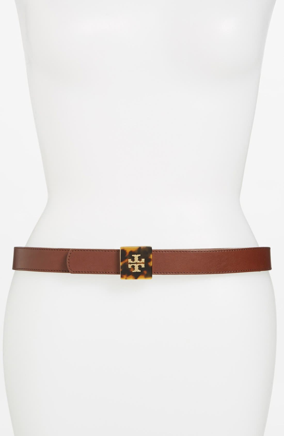 Alternate Image 1 Selected - Tory Burch Reversible Leather Belt