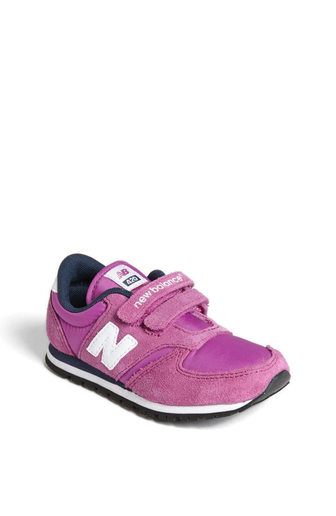 Alternate Image 1 Selected - New Balance '420 Take Down' Sneaker (Walker & Toddler)