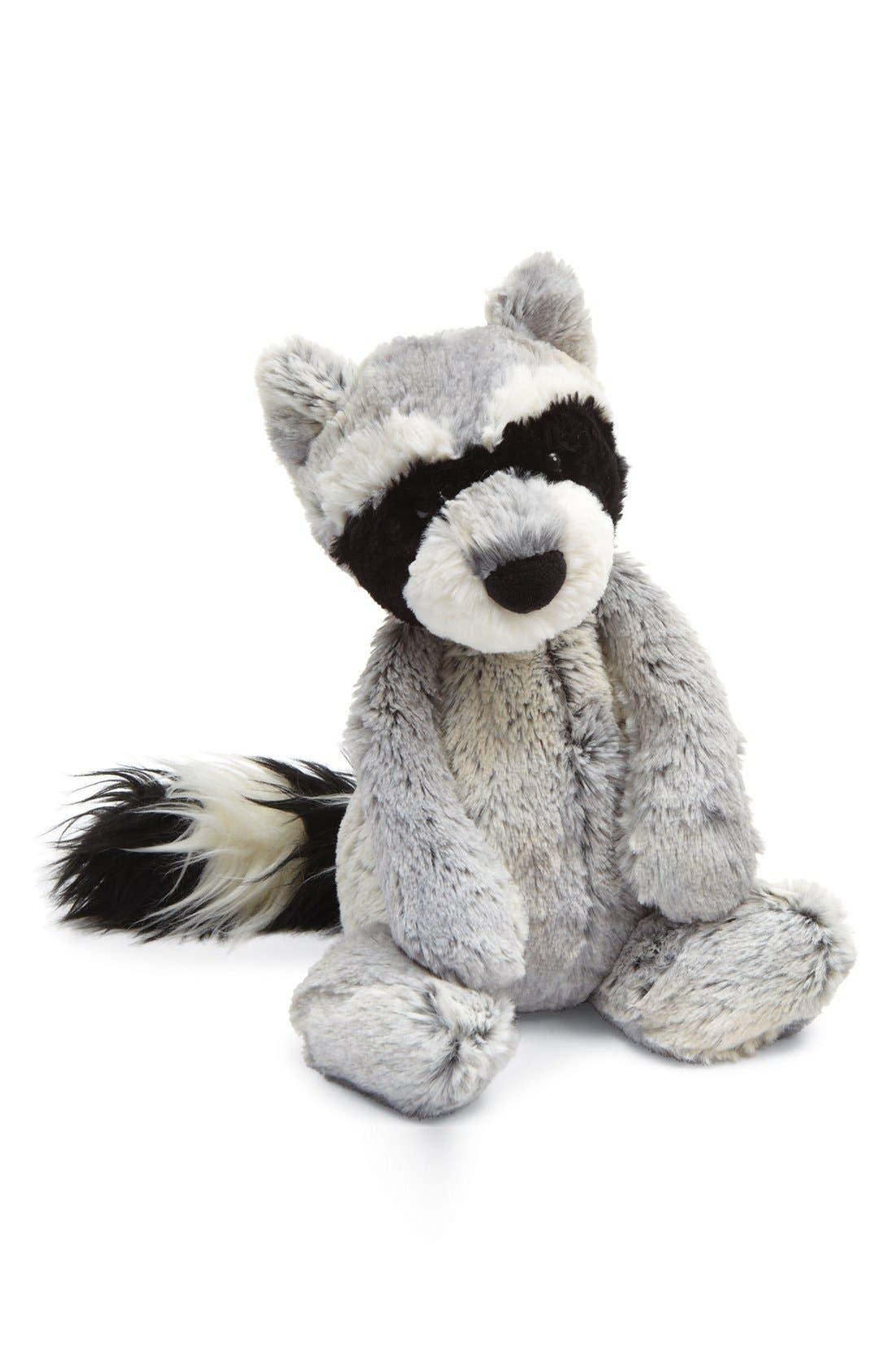 Main Image - Jellycat 'Woodland Babe - Raccoon' Stuffed Animal