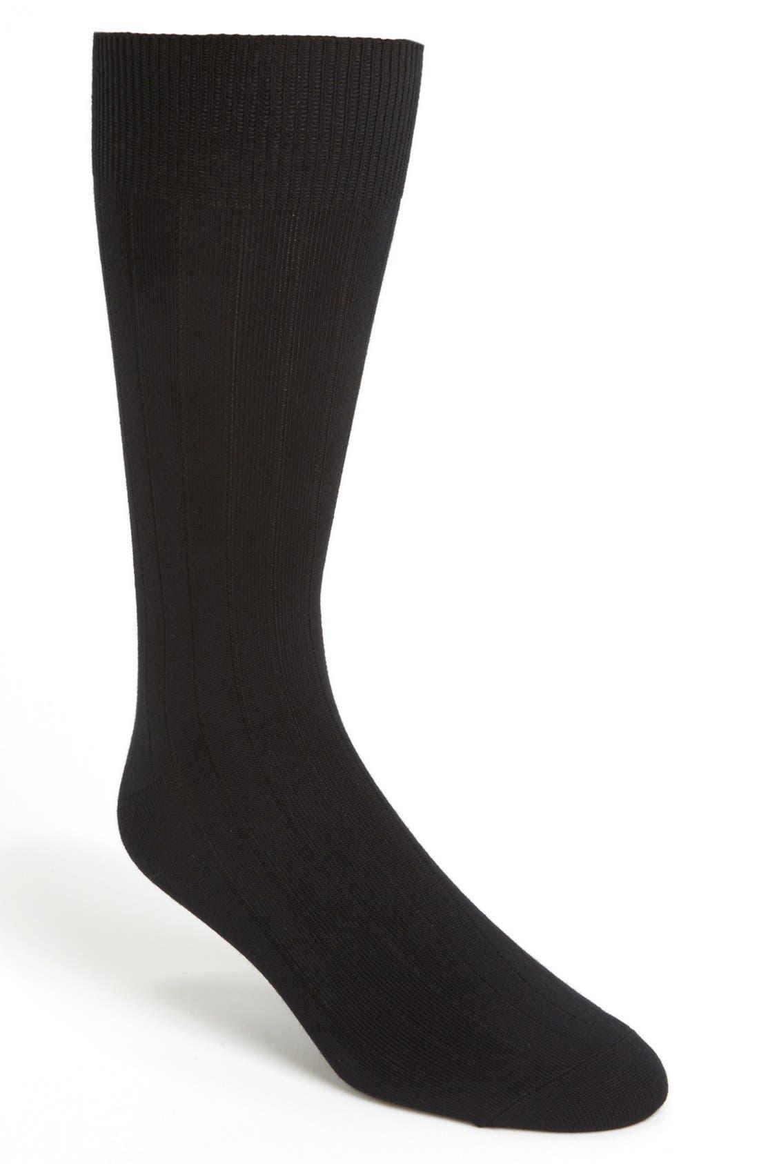 Alternate Image 1 Selected - Cole Haan Pima Cotton Blend Socks (3-Pack)