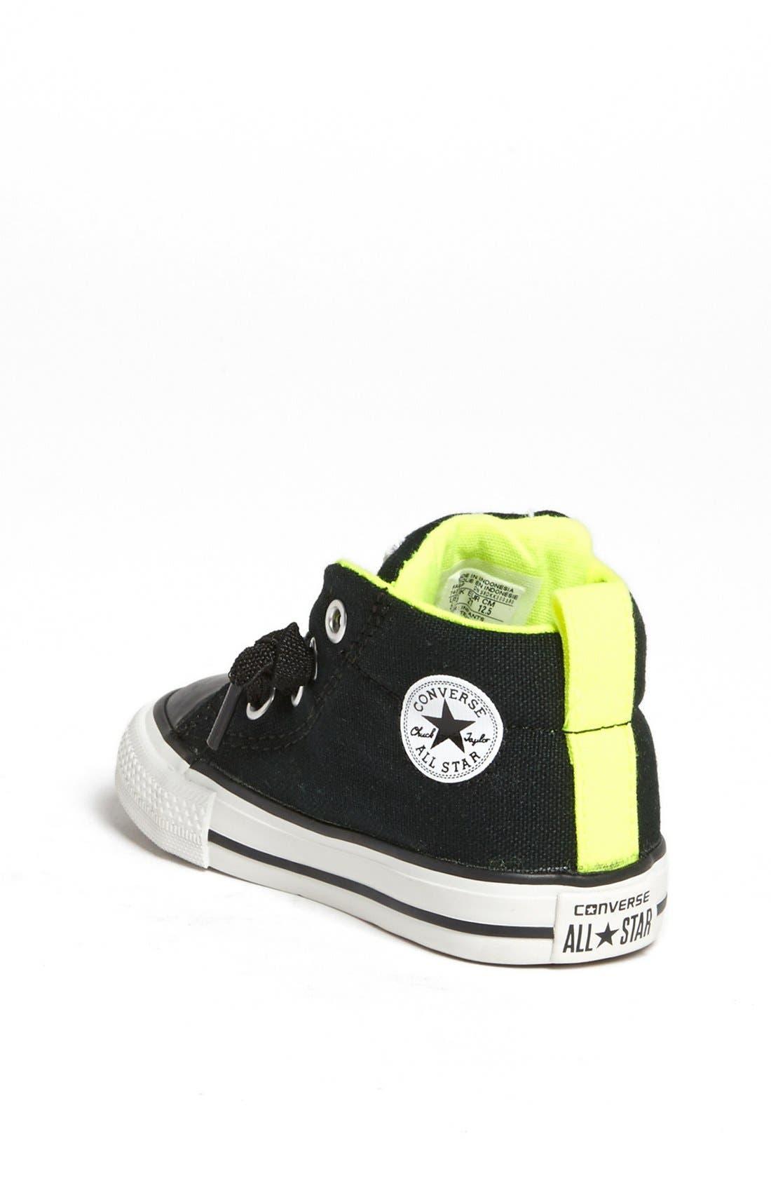 Alternate Image 2  - Converse Chuck Taylor® 'Street Mid Cab' Sneaker (Walker & Toddler)