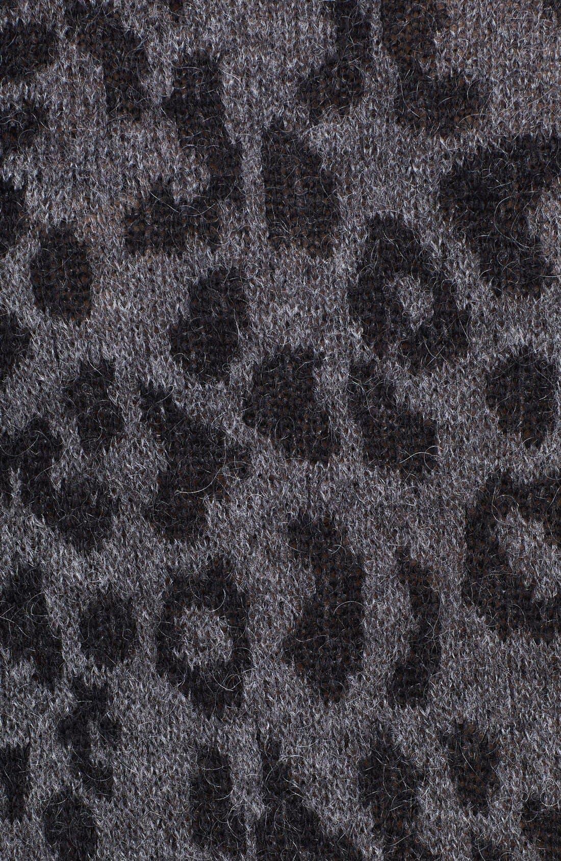 Alternate Image 4  - The Kooples Leopard Pattern Sweater
