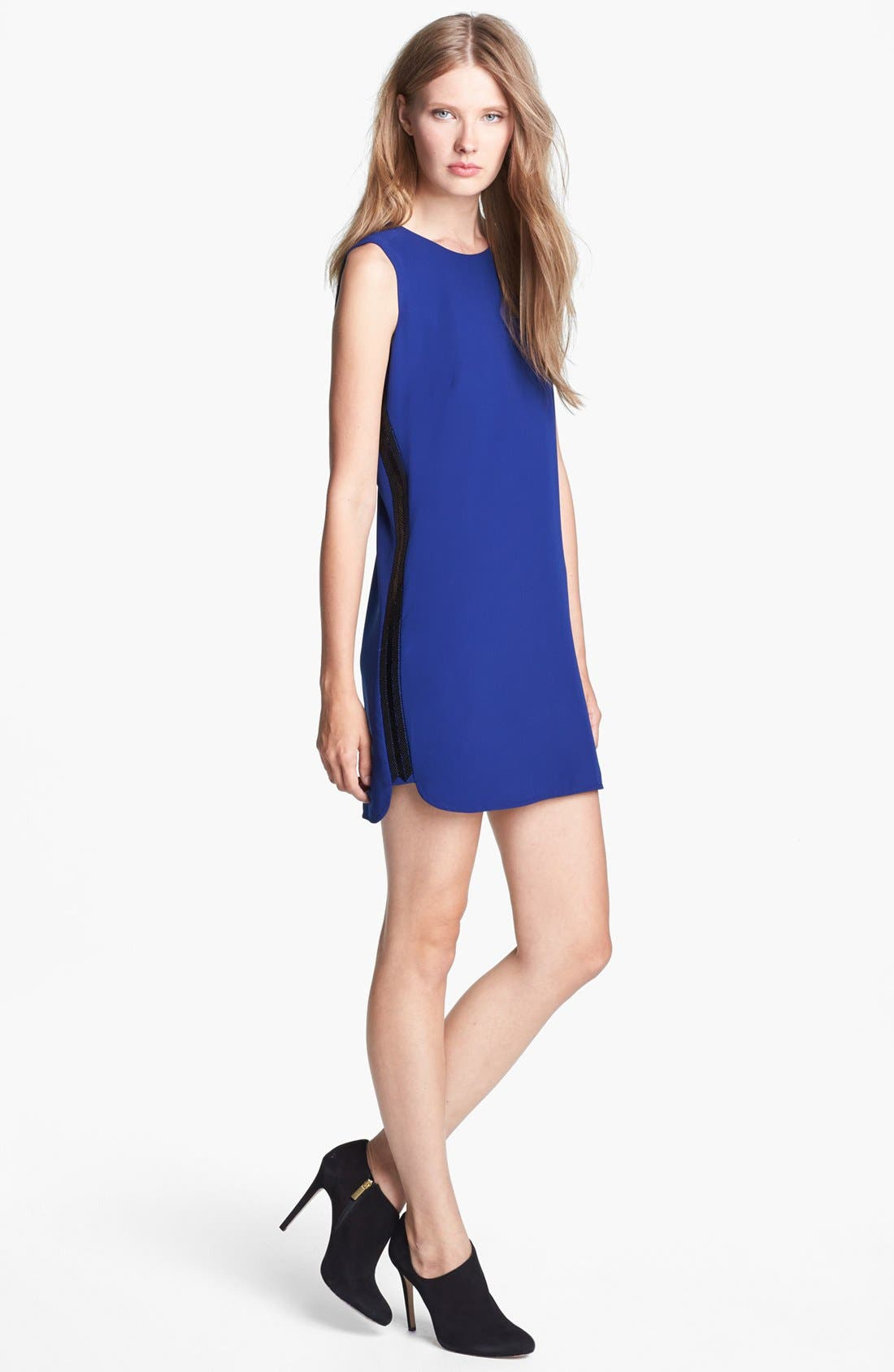 Main Image - BCBGMAXAZRIA Sleeveless Shift Dress