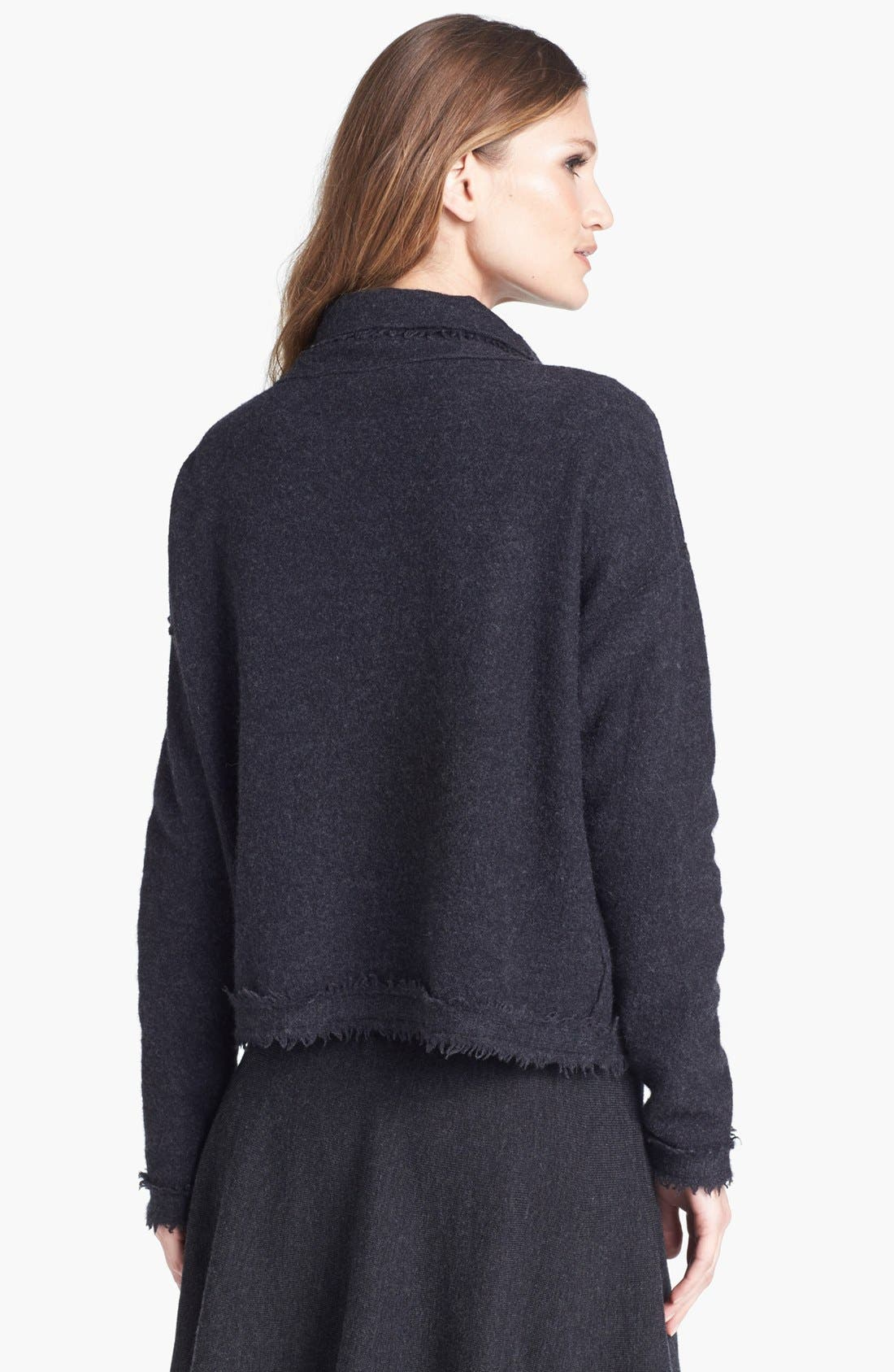 Alternate Image 2  - Eileen Fisher Boiled Wool Jacket