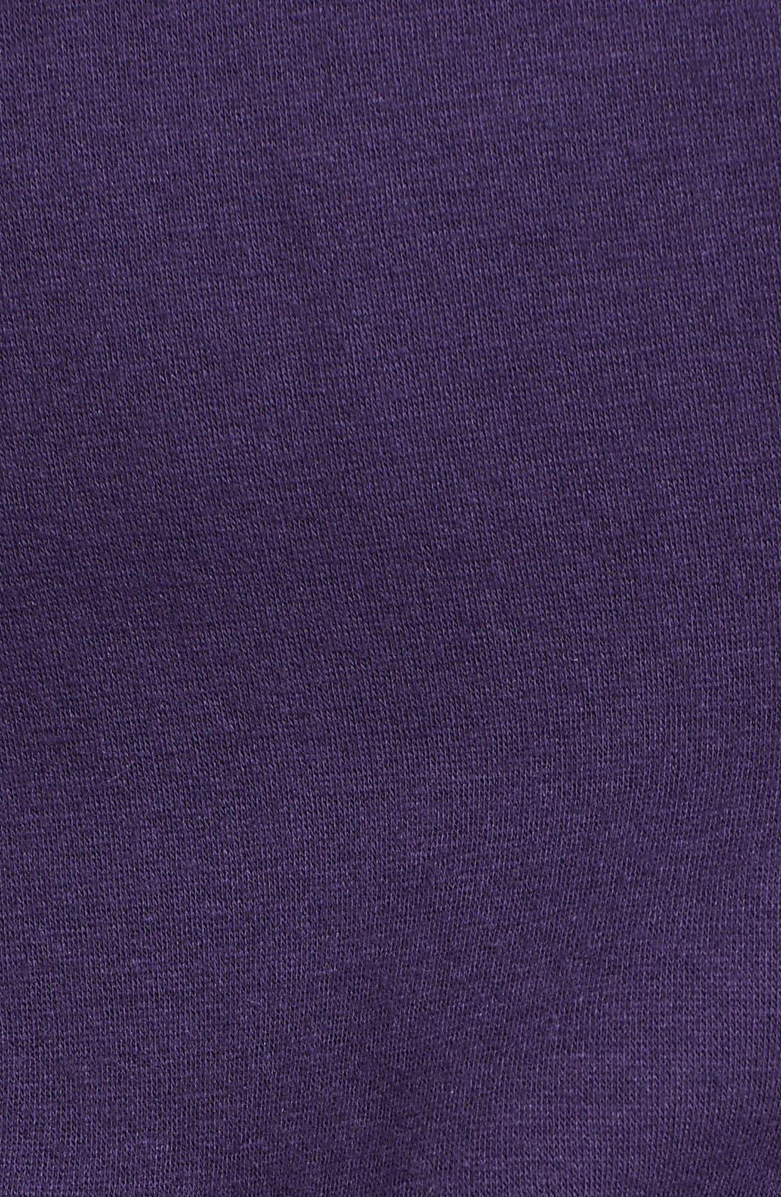 'Collins' Double Knit Pants,                             Alternate thumbnail 4, color,                             Purple Violet