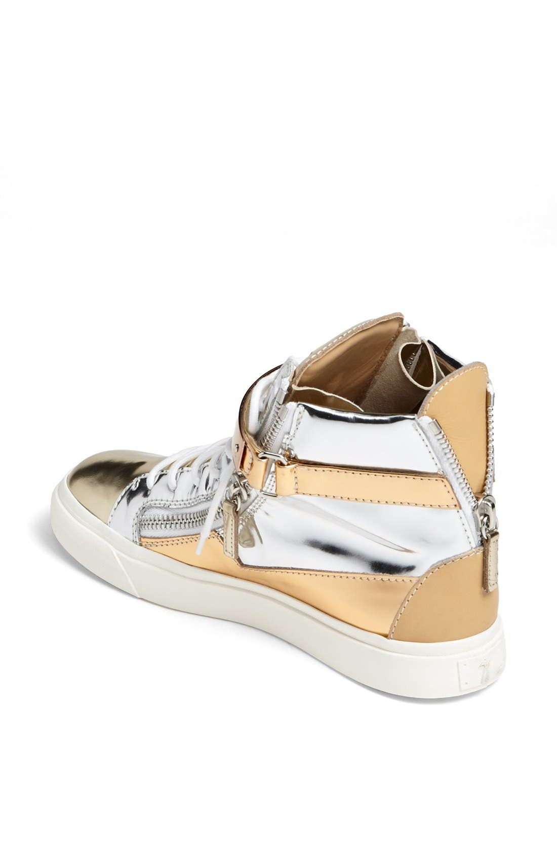 Alternate Image 2  - Giuseppe Zanotti 'London' High Top Wedge Sneaker