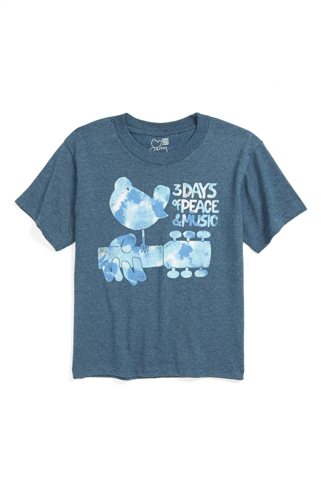 Alternate Image 1 Selected - Jem 'Tie Dye' T-Shirt (Little Boys)