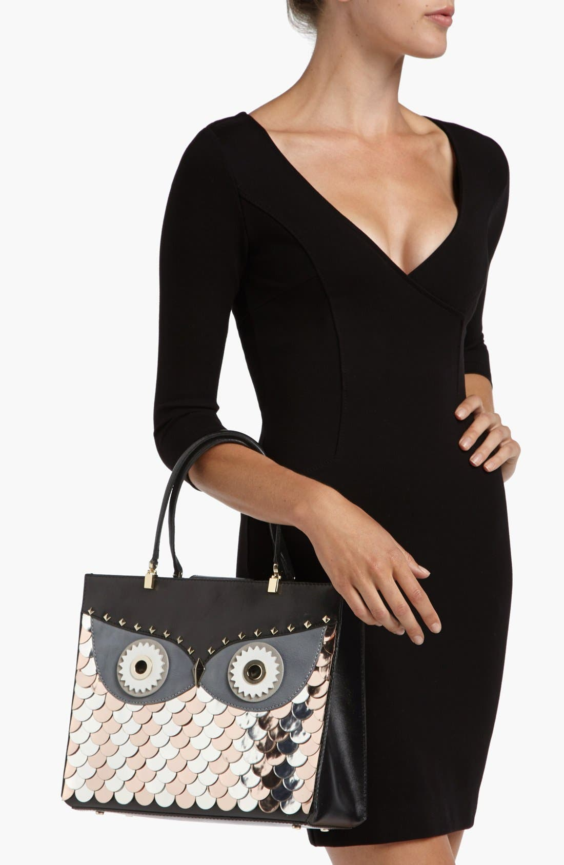 Alternate Image 2  - kate spade new york 'wise owl quinn' tote, medium
