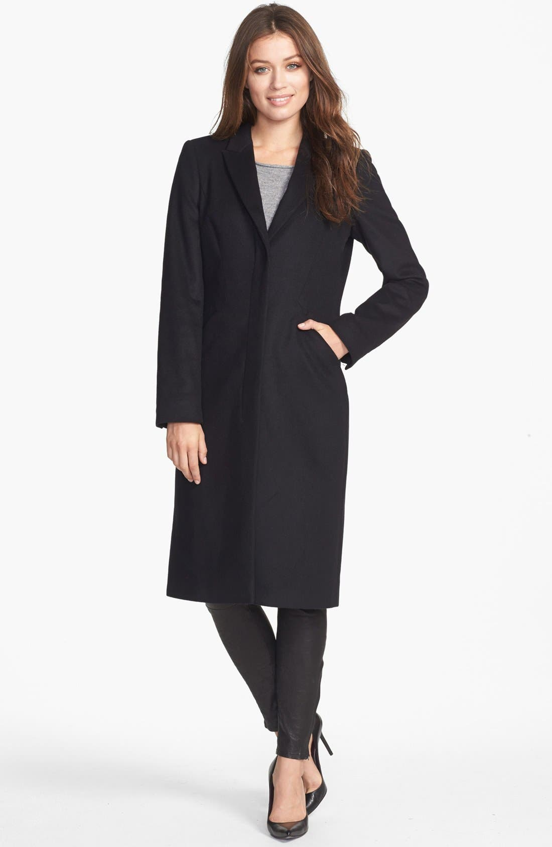 Alternate Image 1 Selected - BOSS HUGO BOSS 'Cavella' Wool & Cashmere Coat