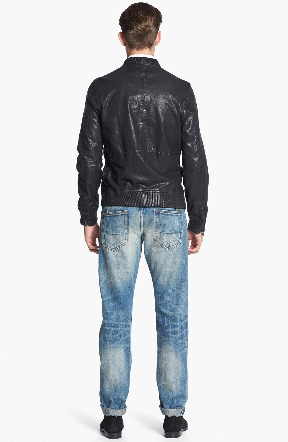 Alternate Image 6  - PRPS 'Barracuda' Straight Leg Selvedge Jeans (5-Year)