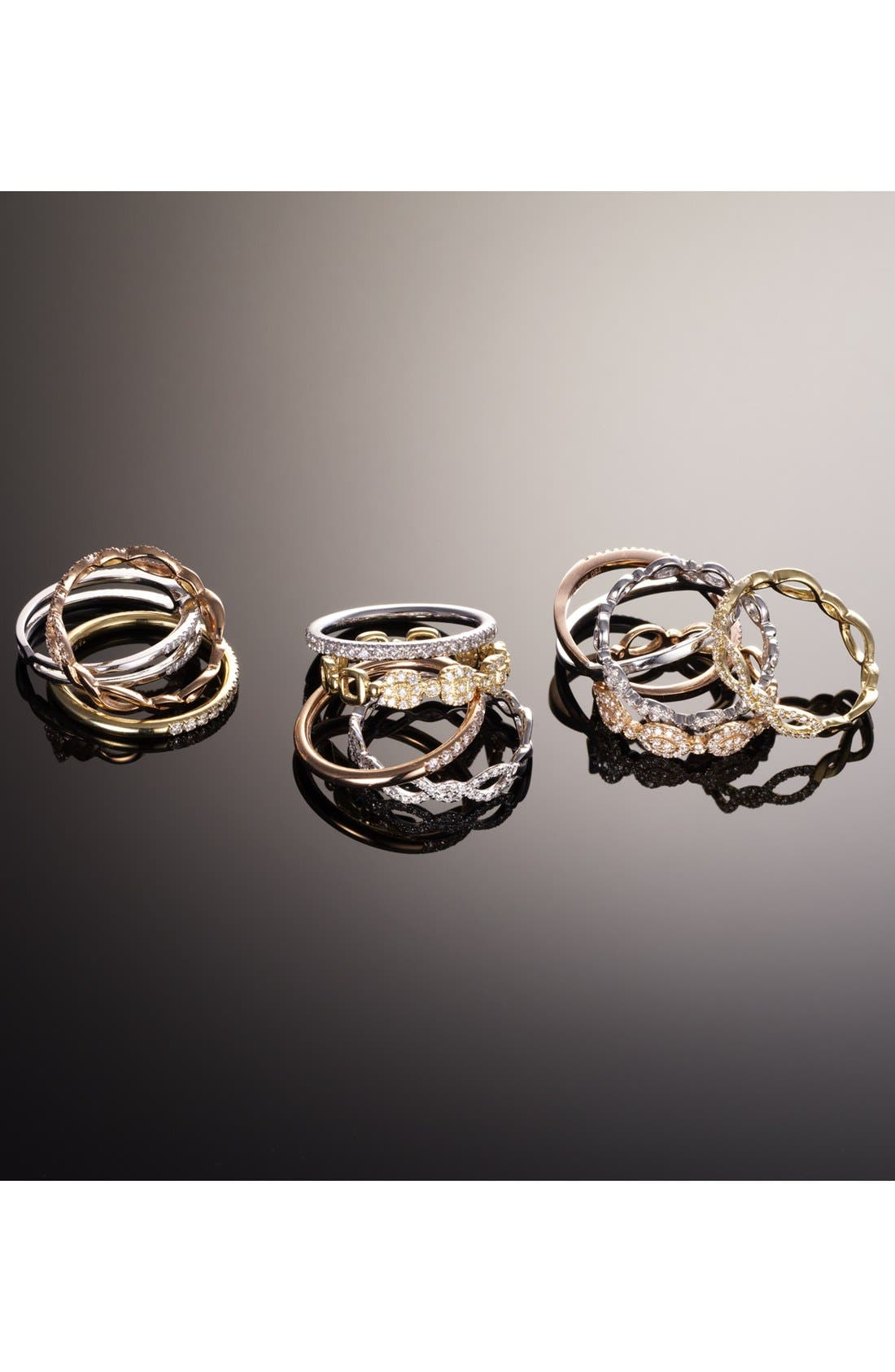 Alternate Image 3  - Bony Levy Stackable Weave Diamond Ring (Nordstrom Exclusive)