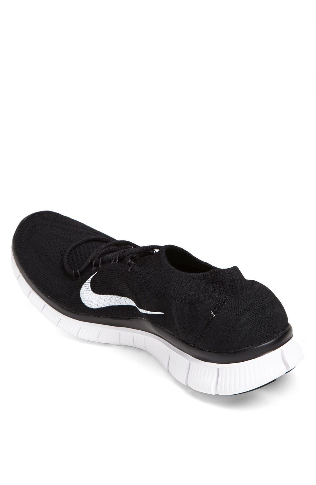 Alternate Image 2  - Nike 'Free Flyknit+' Running Shoe (Men)