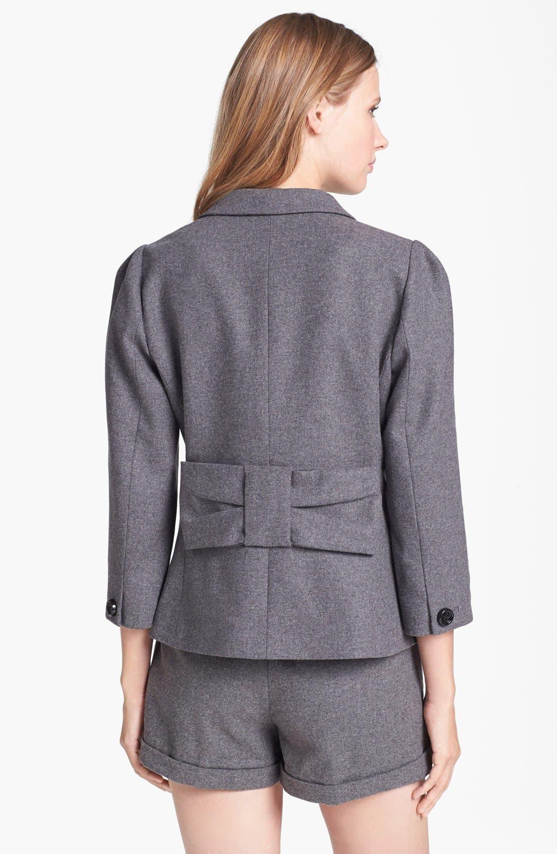 Alternate Image 2  - kate spade new york 'melita' wool blend jacket