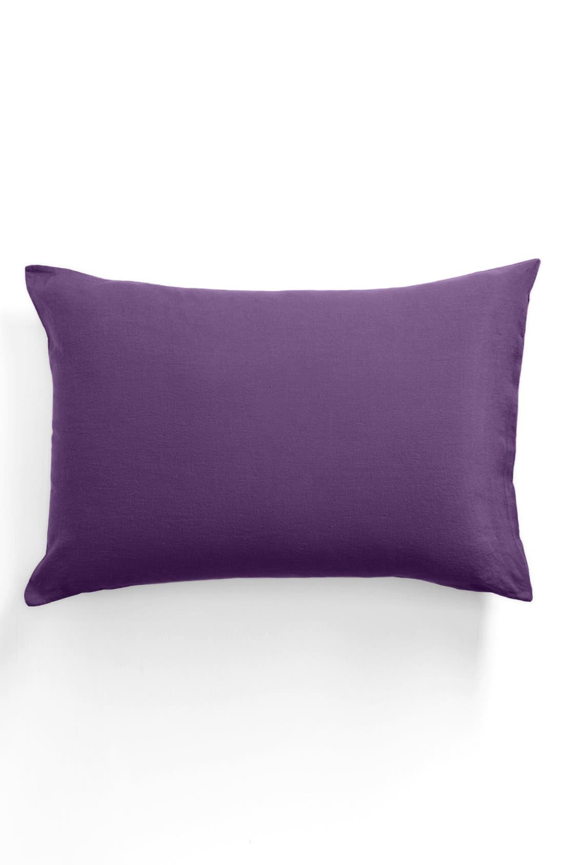 Alternate Image 1 Selected - Merci Washed Linen Pillowcase
