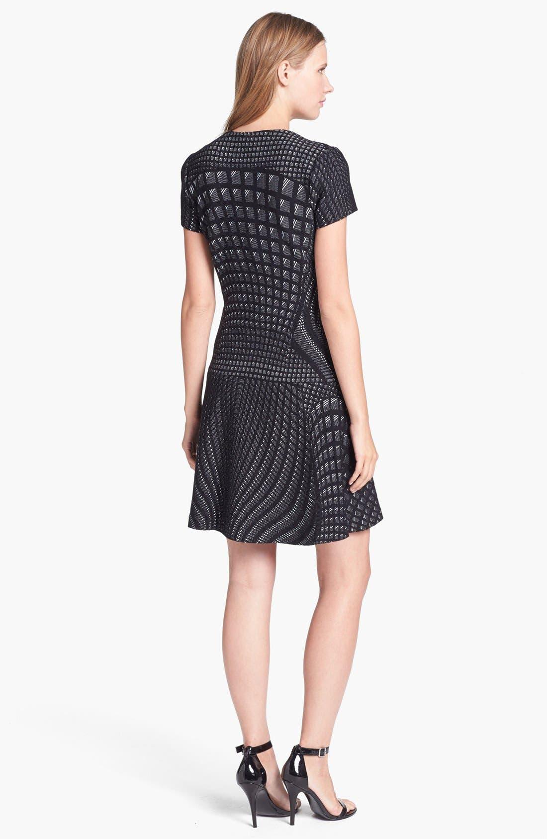 Alternate Image 2  - Diane von Furstenberg 'Hansine' Knit A-Line Dress