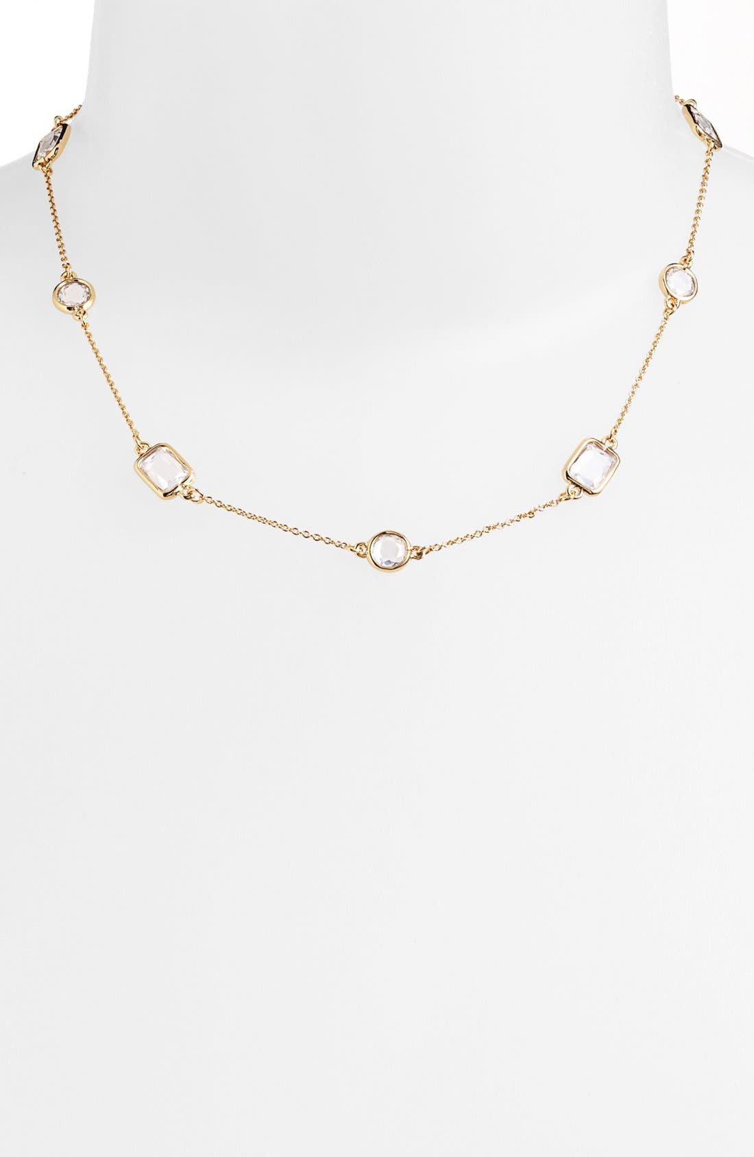Main Image - kate spade new york 'opening night' station collar necklace