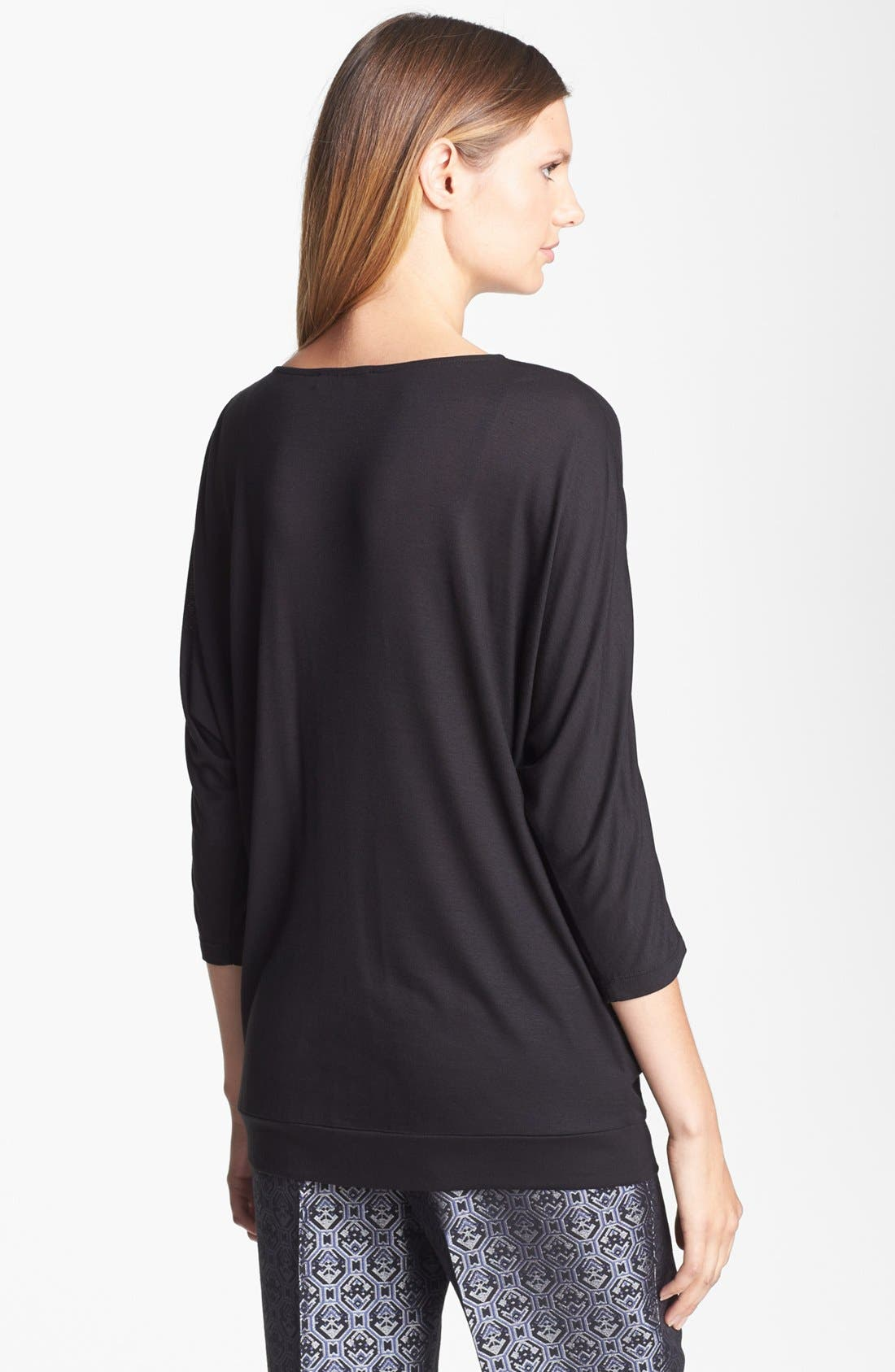 Alternate Image 2  - Classiques Entier® Embellished Jersey Knit Top
