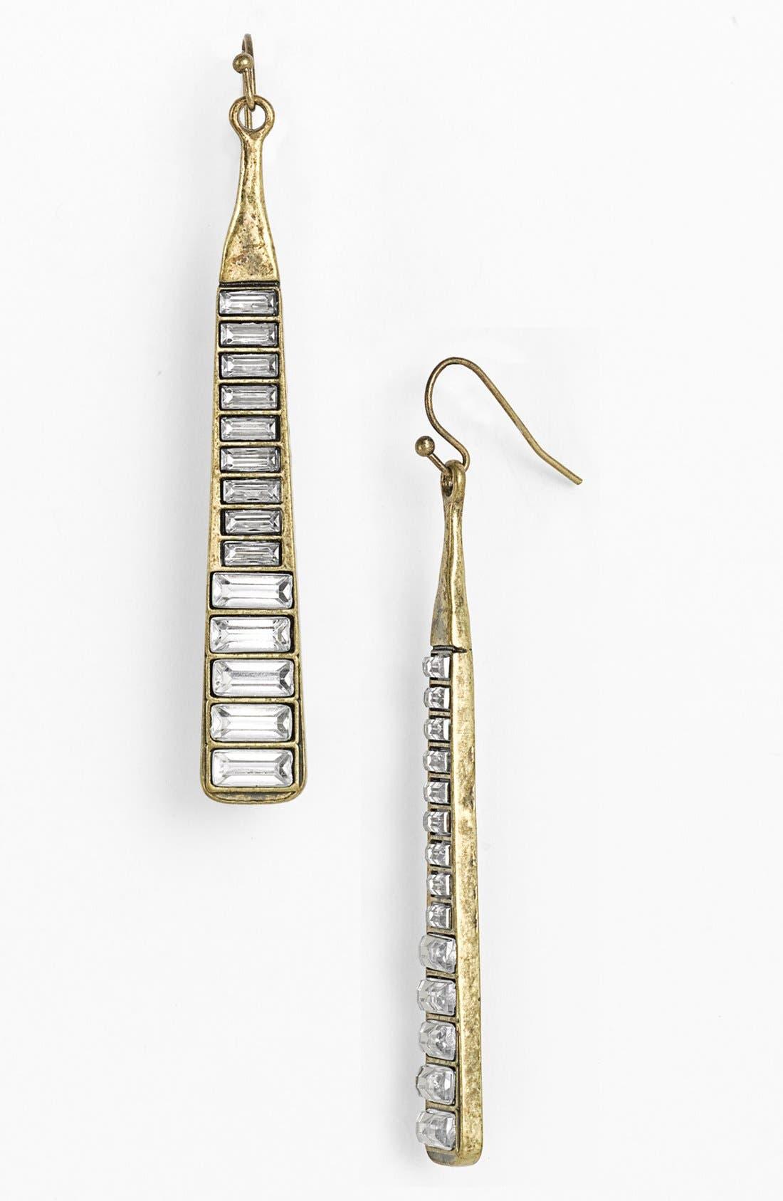 Alternate Image 1 Selected - Guinevere 'Bar' Drop Earrings