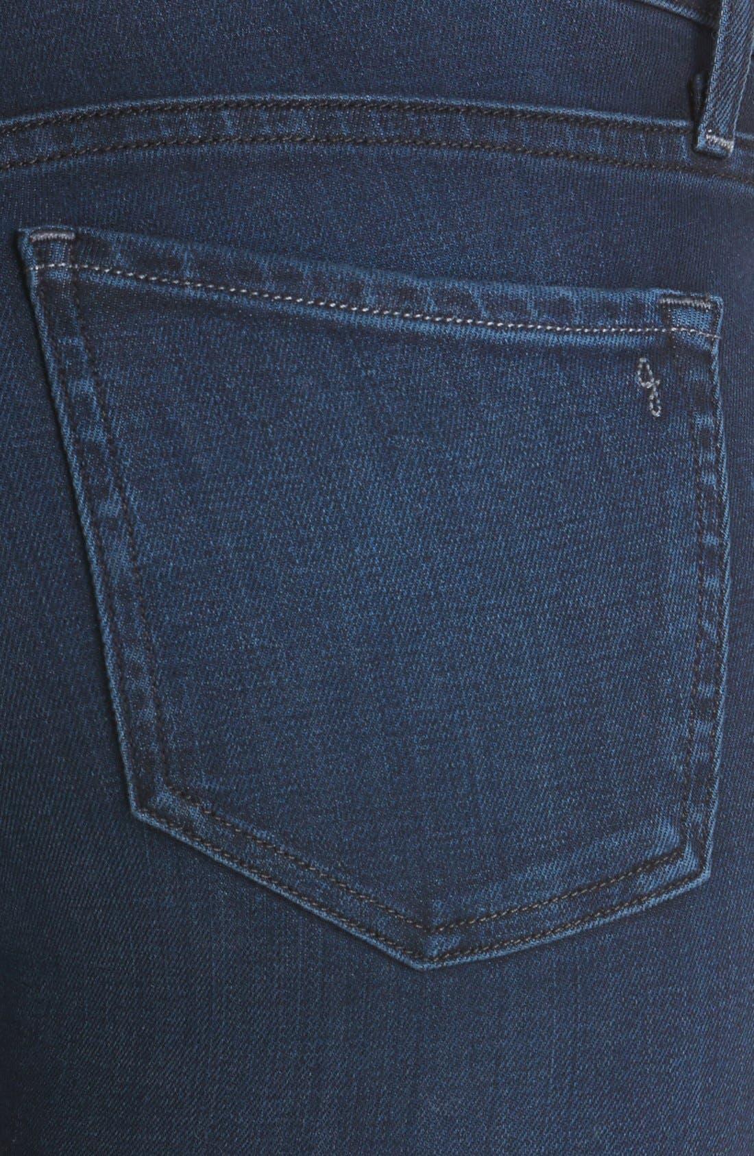 Alternate Image 3  - Joie Ankle Stretch Skinny Jeans (Neptune)