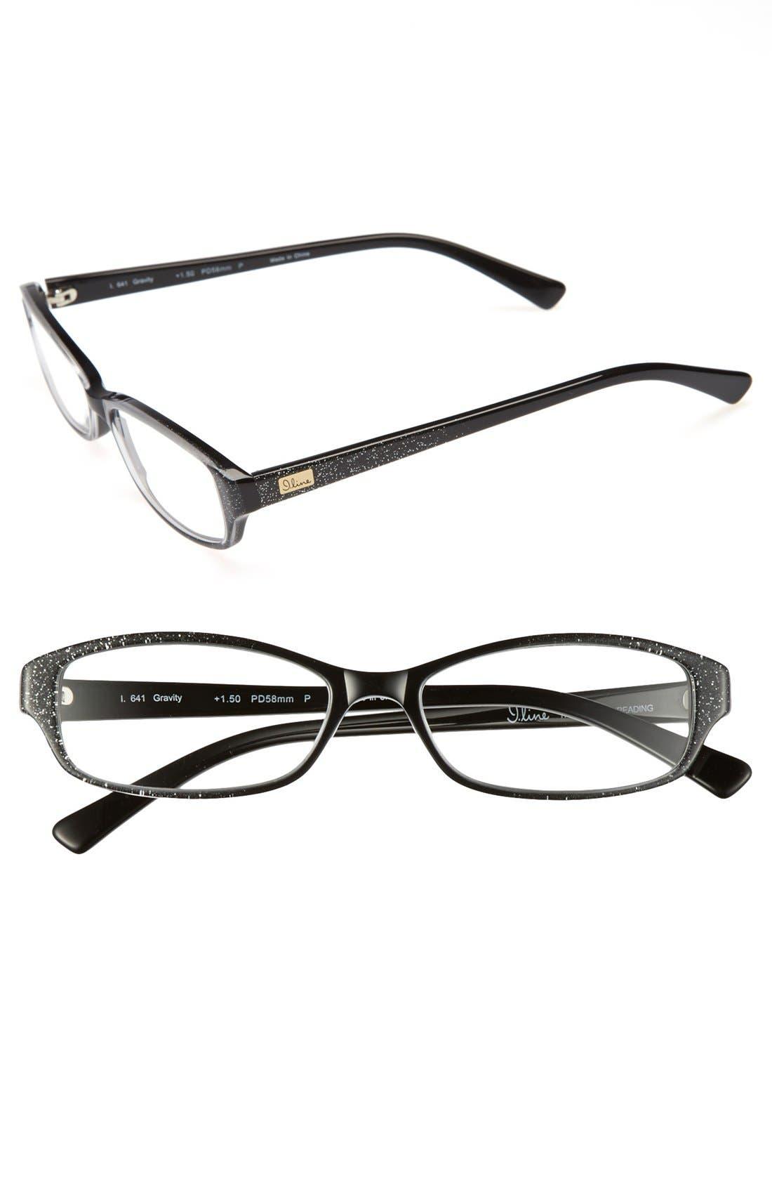 Alternate Image 1 Selected - I Line Eyewear 'Gravity' 58mm Reading Glasses (2 for $88)