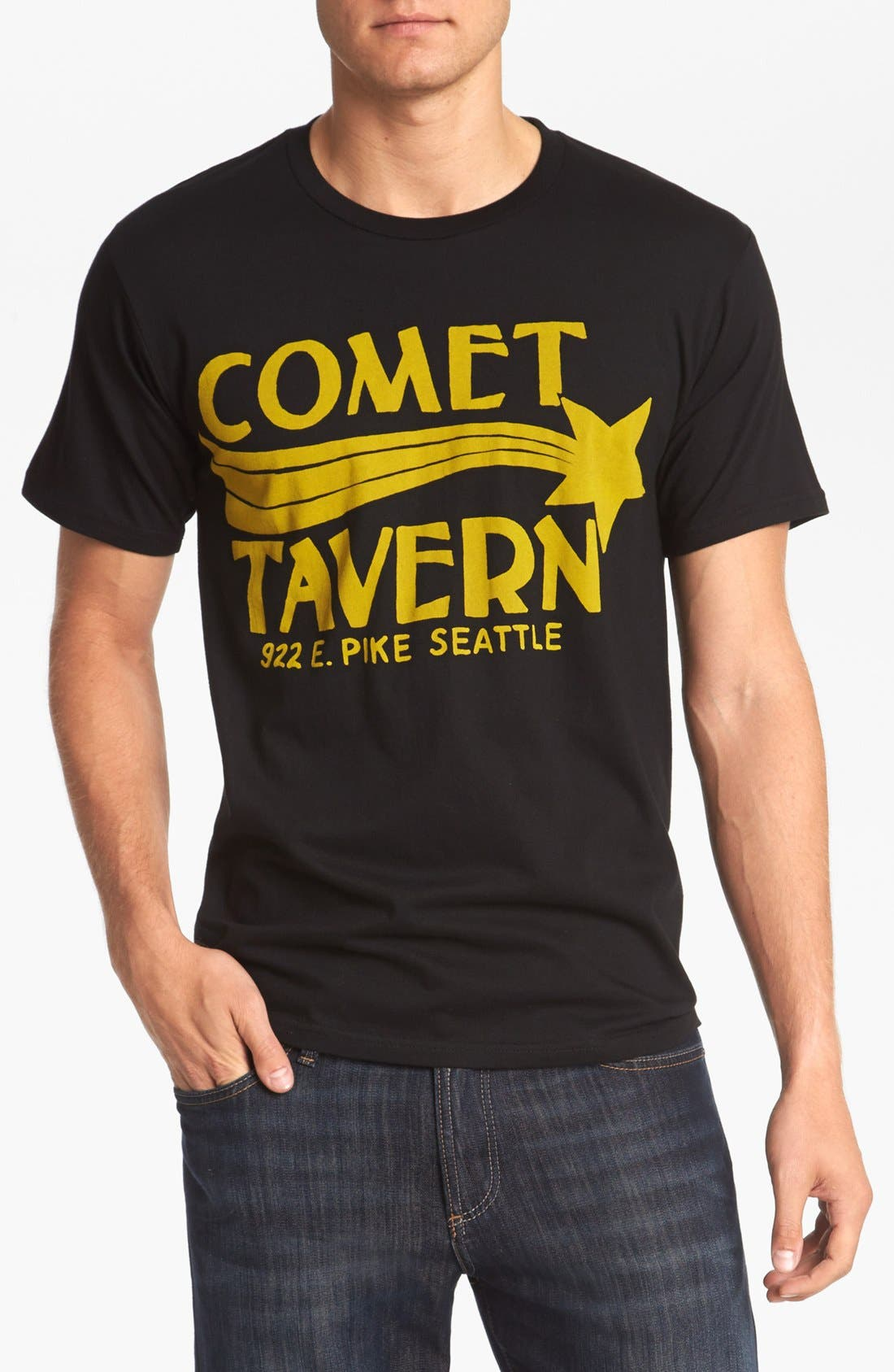 Main Image - Horses Cut Shop 'Comet Tavern' T-Shirt