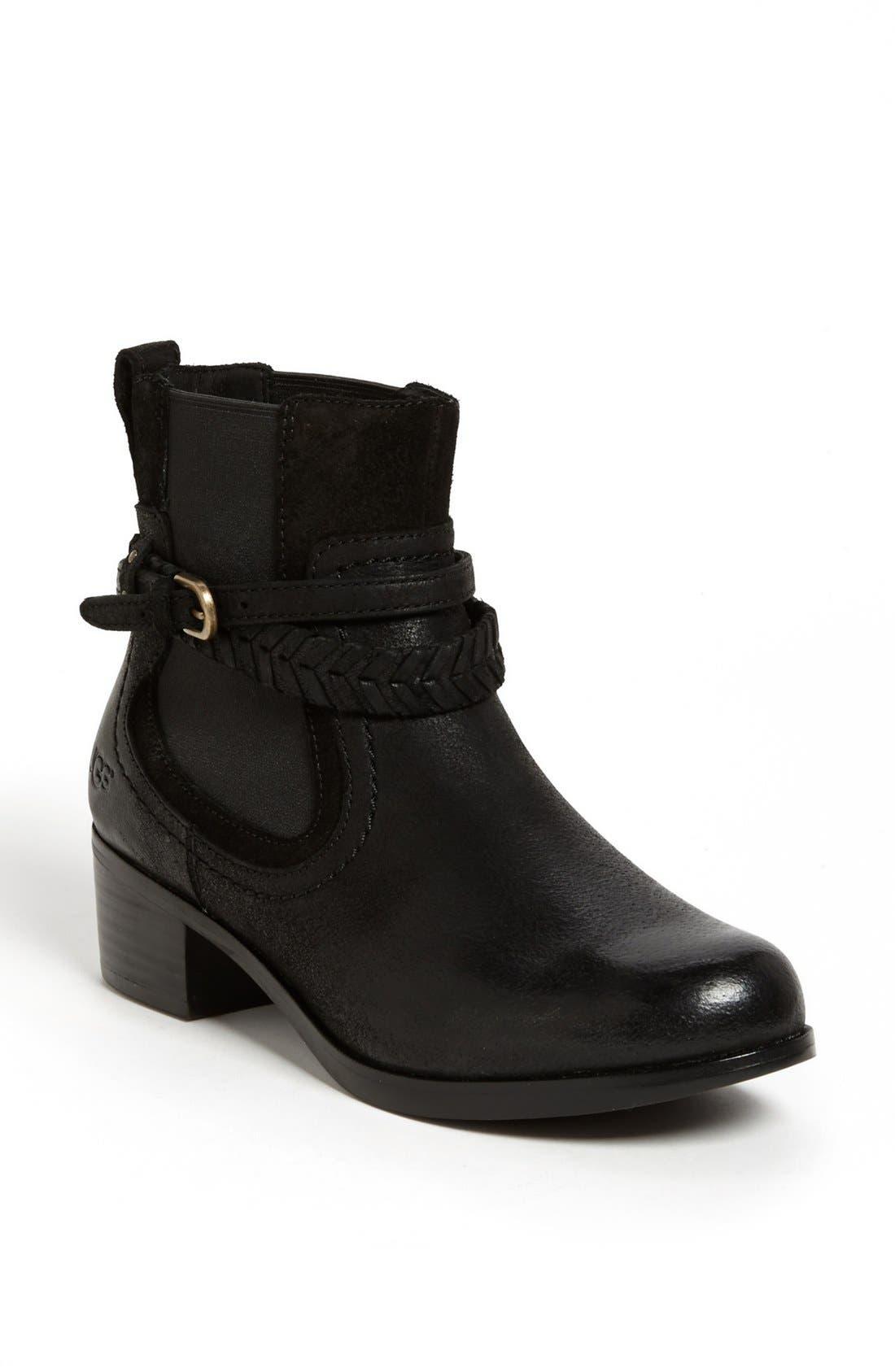 Australia 'Krewe' Boot,                             Main thumbnail 1, color,                             Black