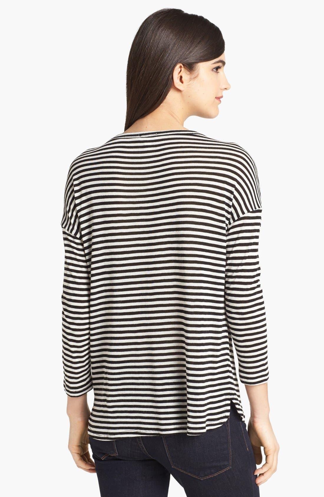 Alternate Image 2  - Soft Joie 'Nash' Stripe Top