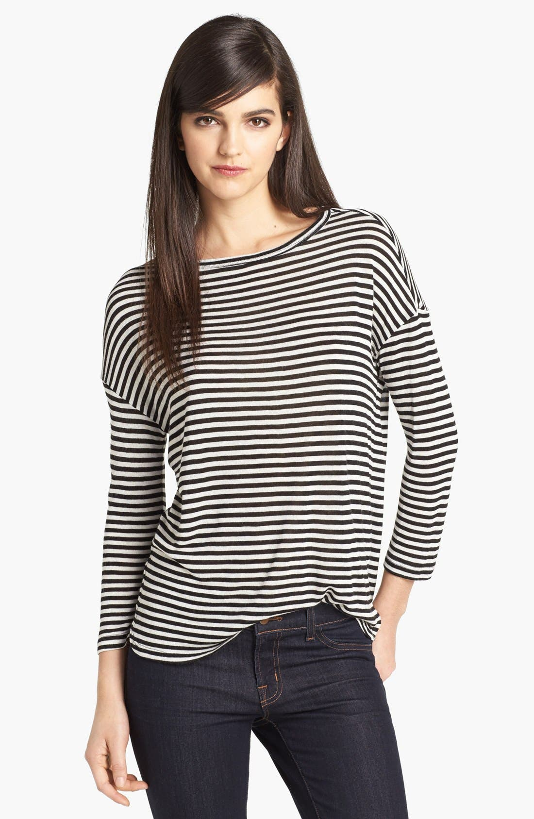Alternate Image 1 Selected - Soft Joie 'Nash' Stripe Top