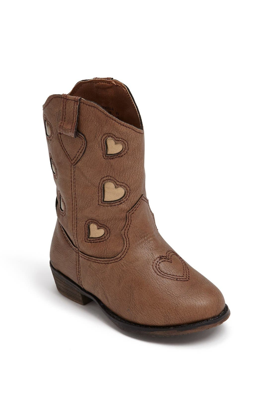 Alternate Image 1 Selected - Jessica Simpson 'Kendelle' Boot (Walker & Toddler)