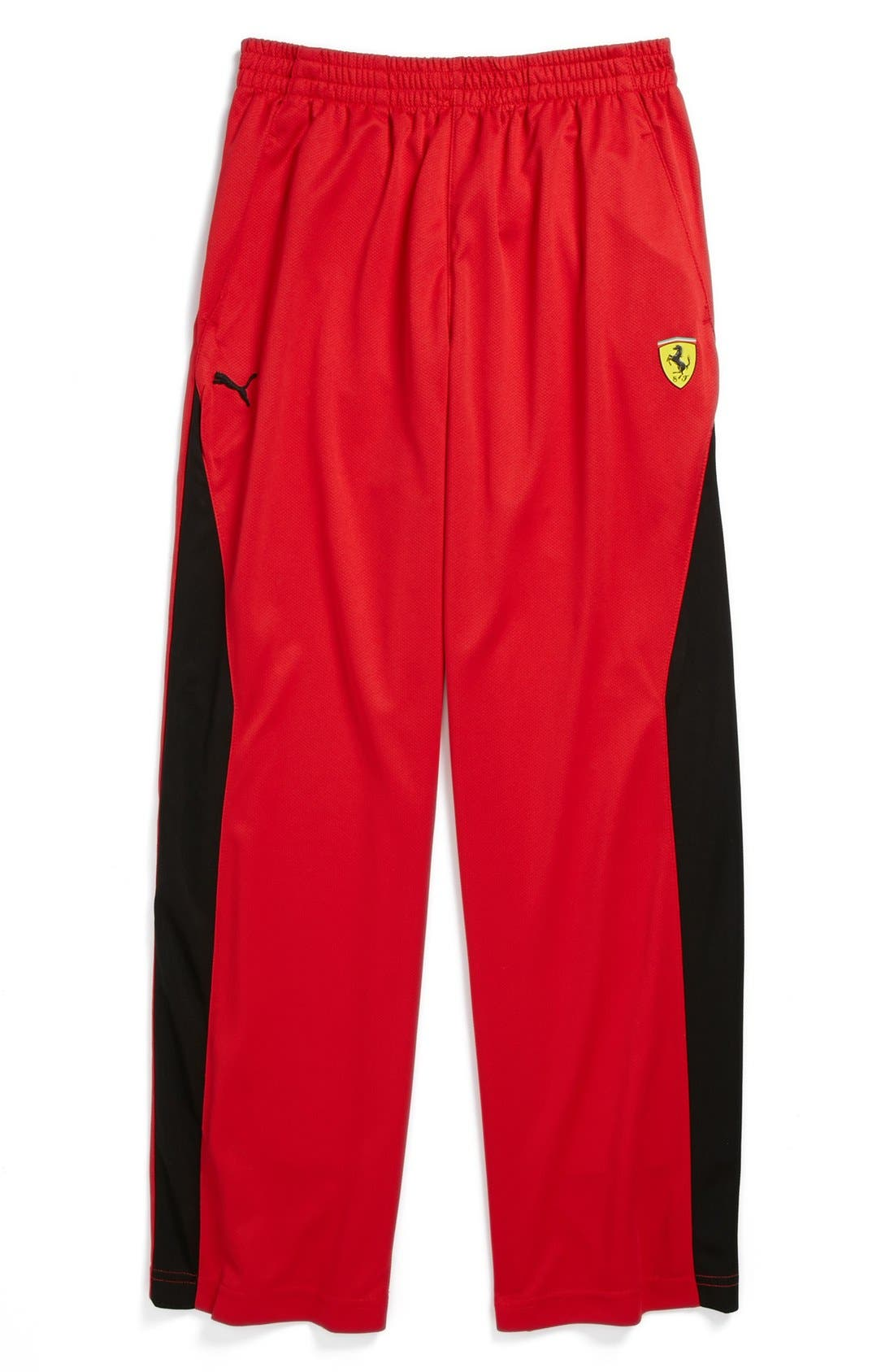 Alternate Image 1 Selected - PUMA 'Ferrari' Athletic Pants (Big Boys)