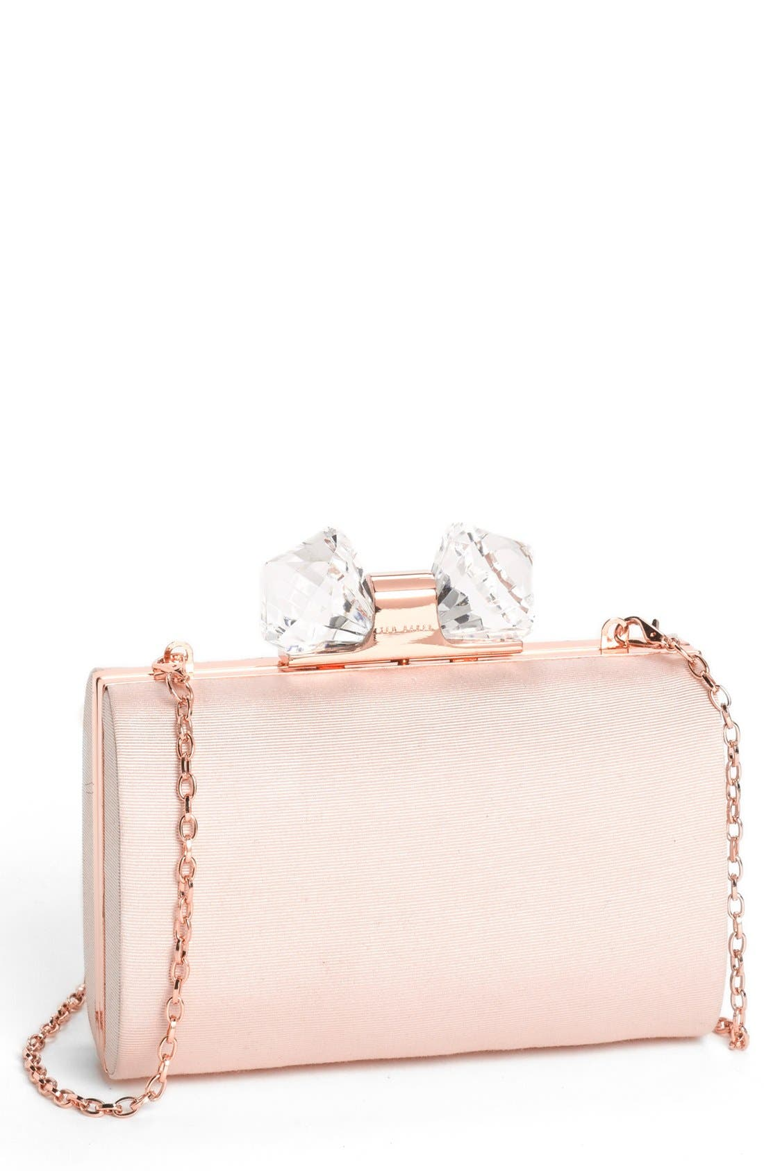 Main Image - Ted Baker London 'Holiday - Crystal' Frame Clutch