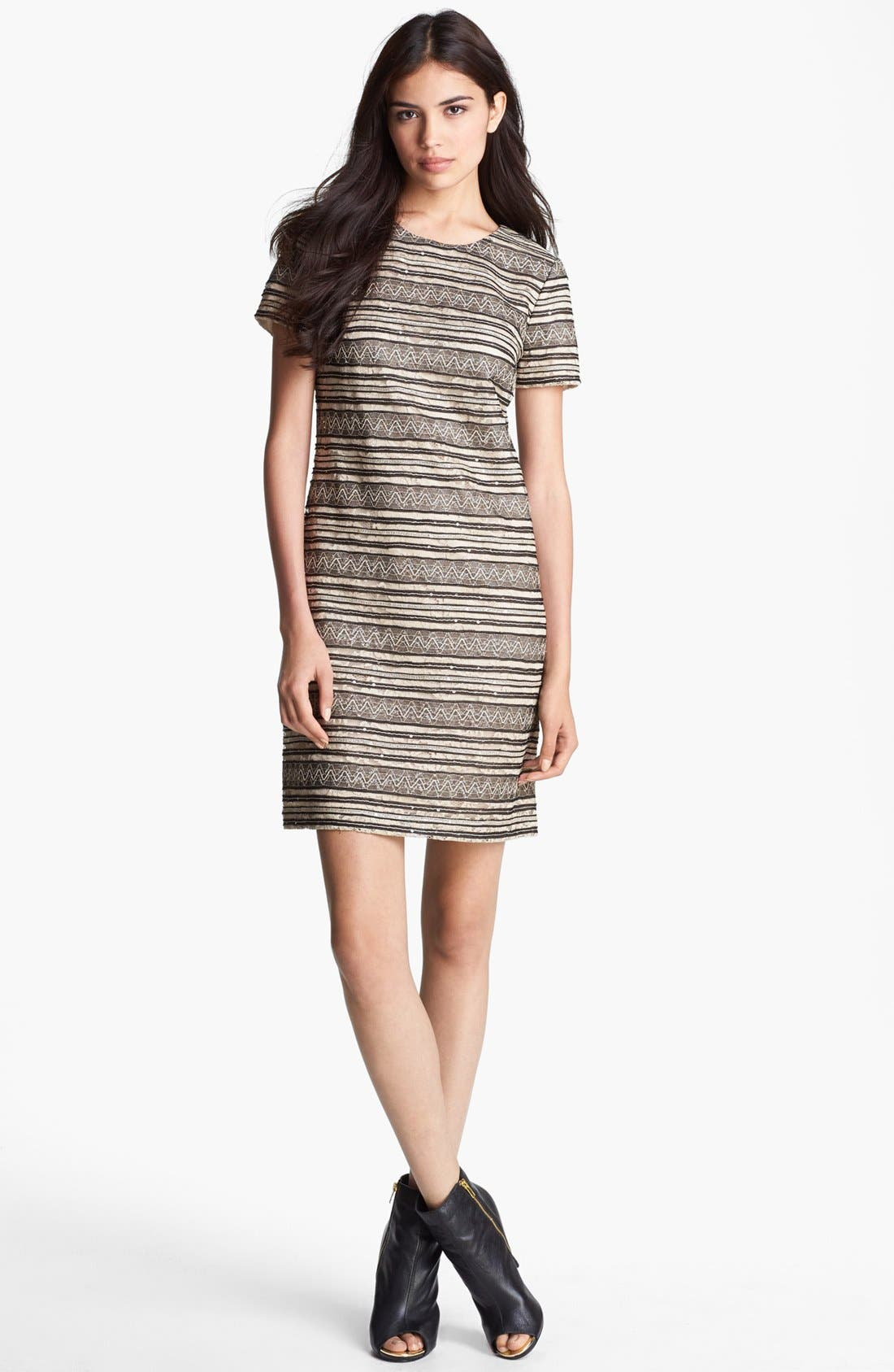 Main Image - Ivy & Blu Lace T-Shirt Dress