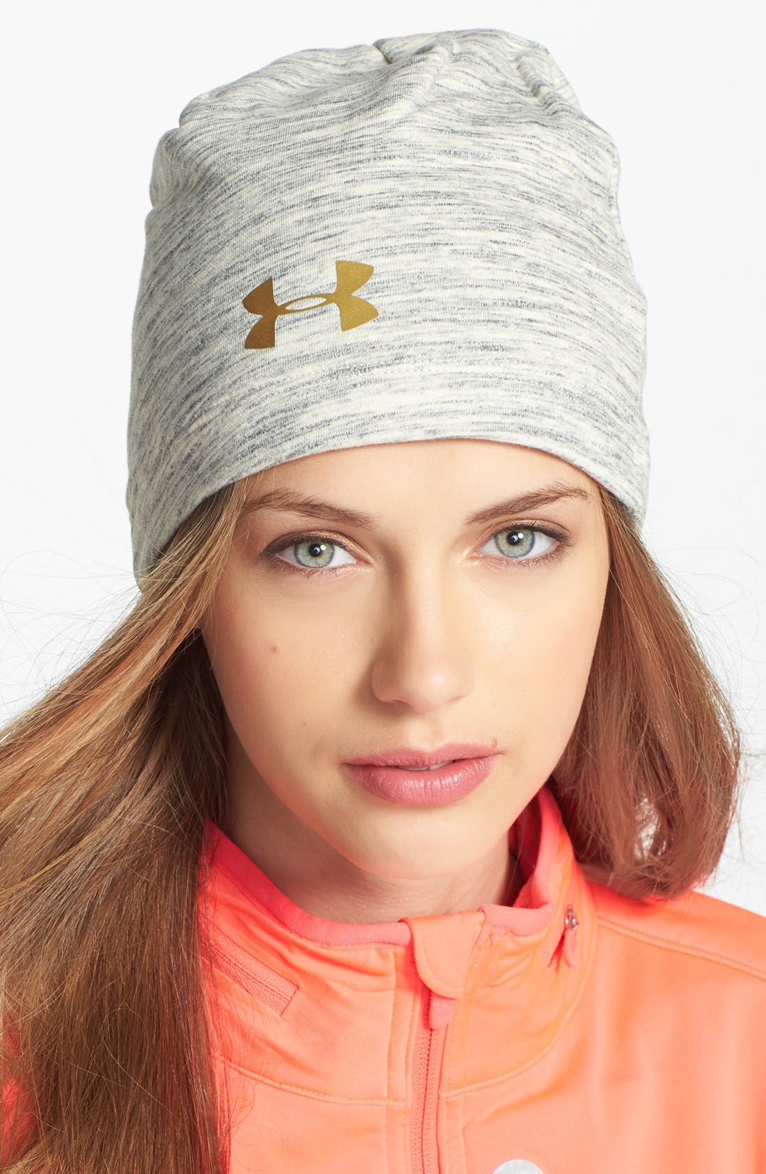 Main Image - Under Armour Charged Cotton Storm Marble Beanie