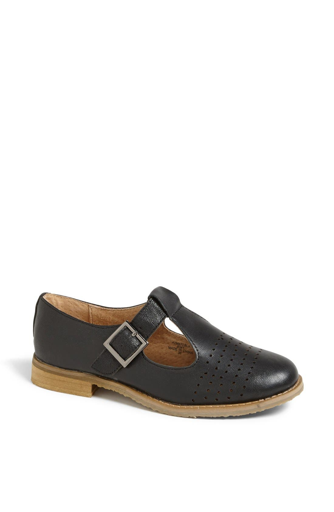 Main Image - Topshop 'Molly Geek' T-Bar Flat