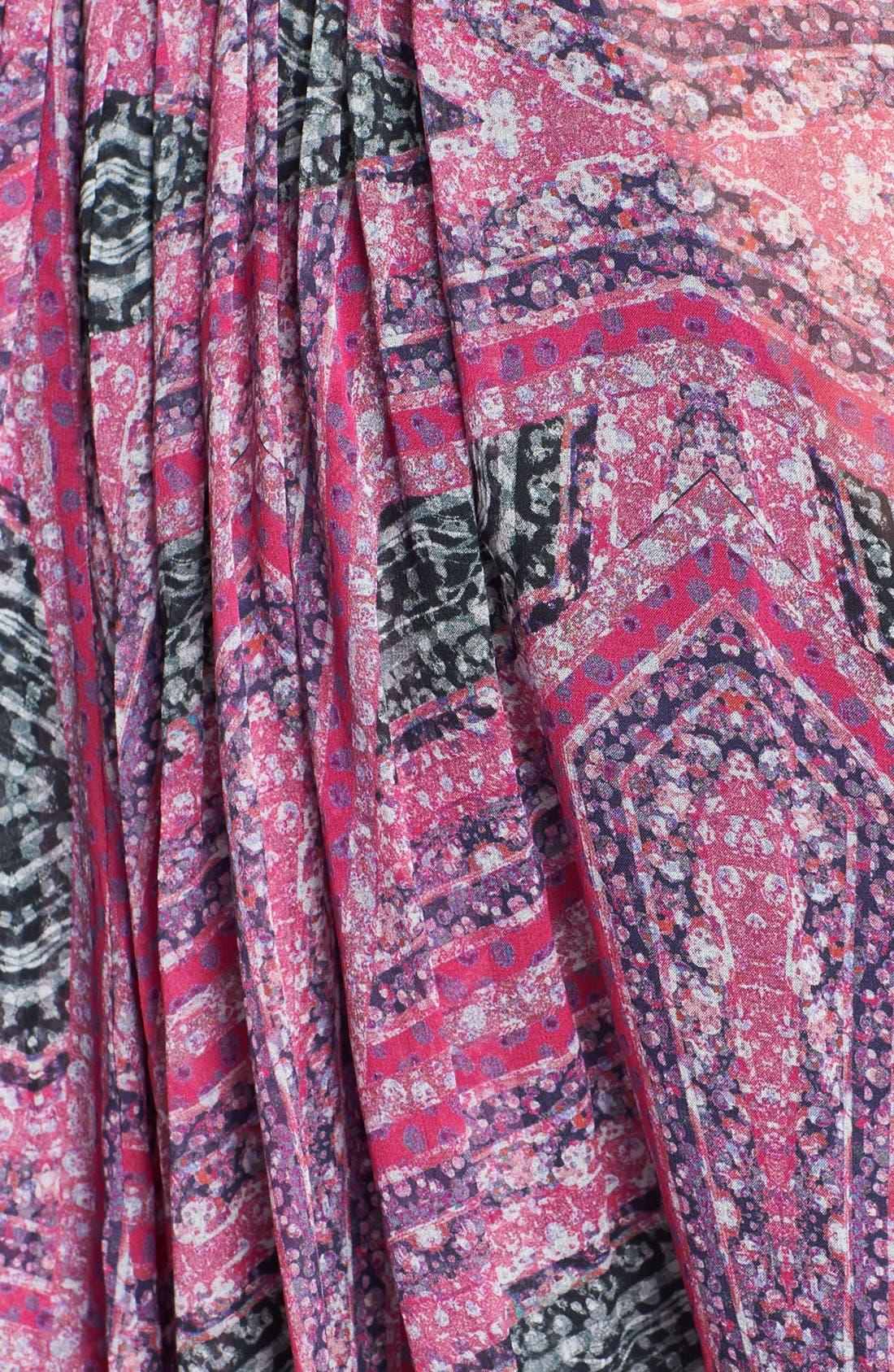 Alternate Image 3  - Diane von Furstenberg 'Fleurette' Silk Tunic Dress