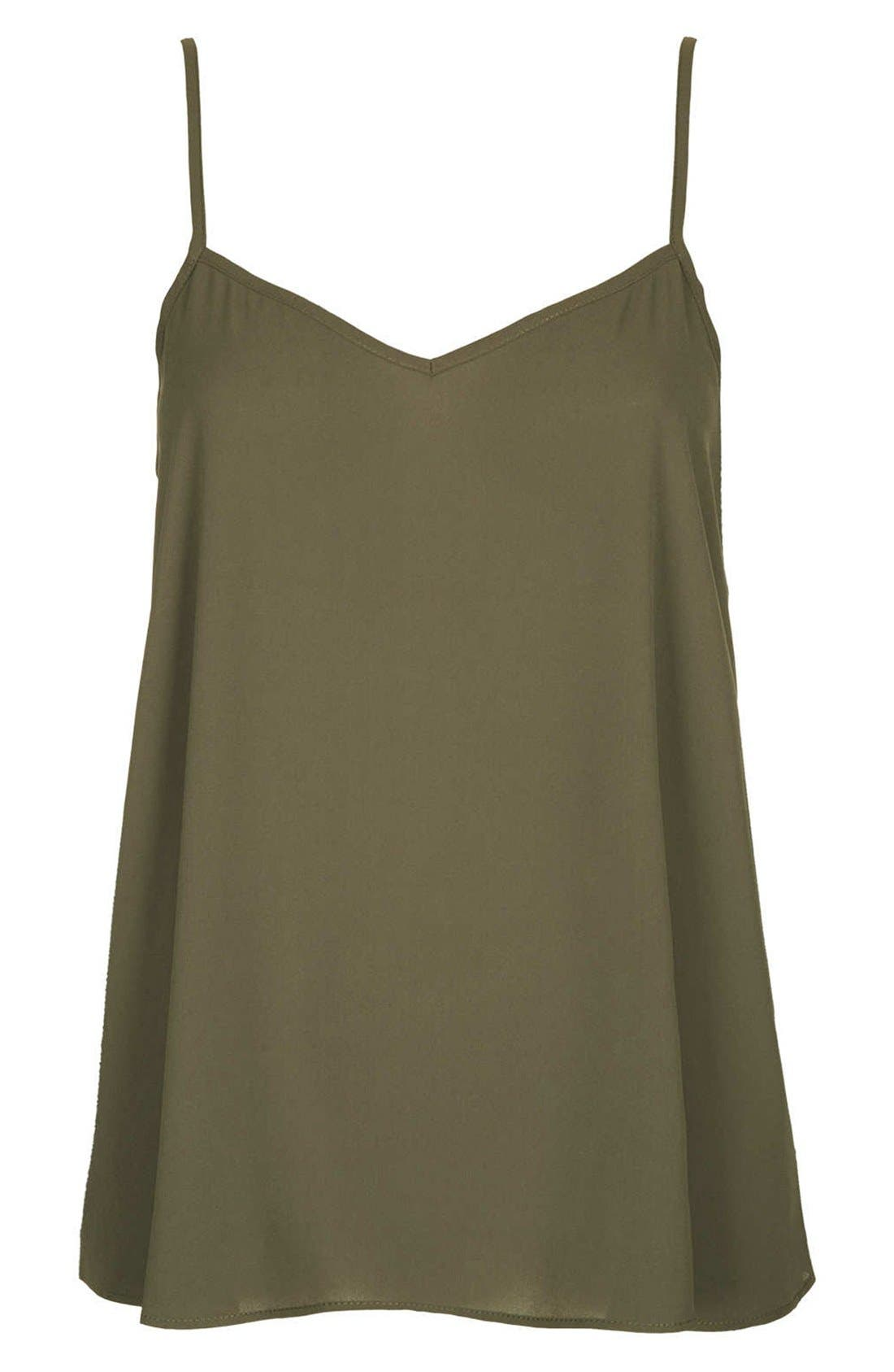 Alternate Image 4  - Topshop 'Pasha' V-Neck Camisole