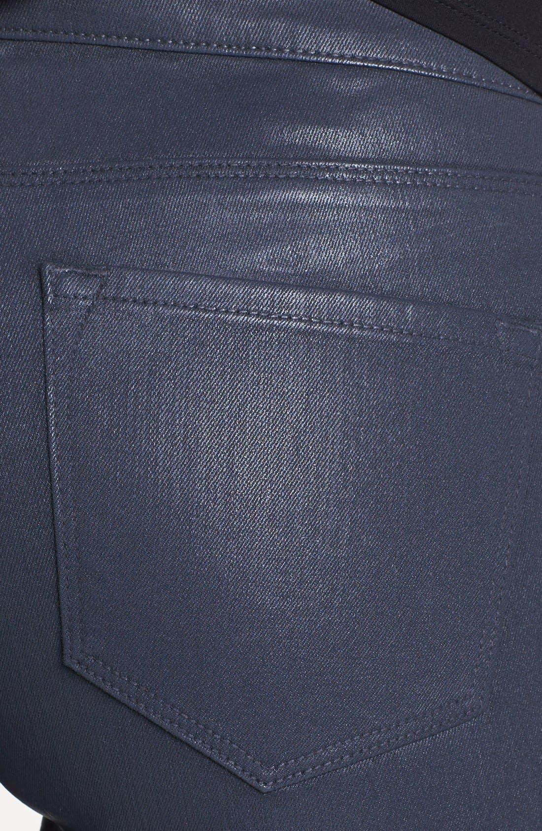 Alternate Image 3  - Elie Tahari 'Azella' Skinny Jeans (Titanium)