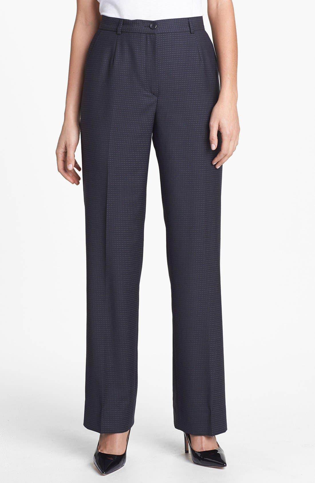 Alternate Image 1 Selected - Zanella 'Goldie' Wool Pants